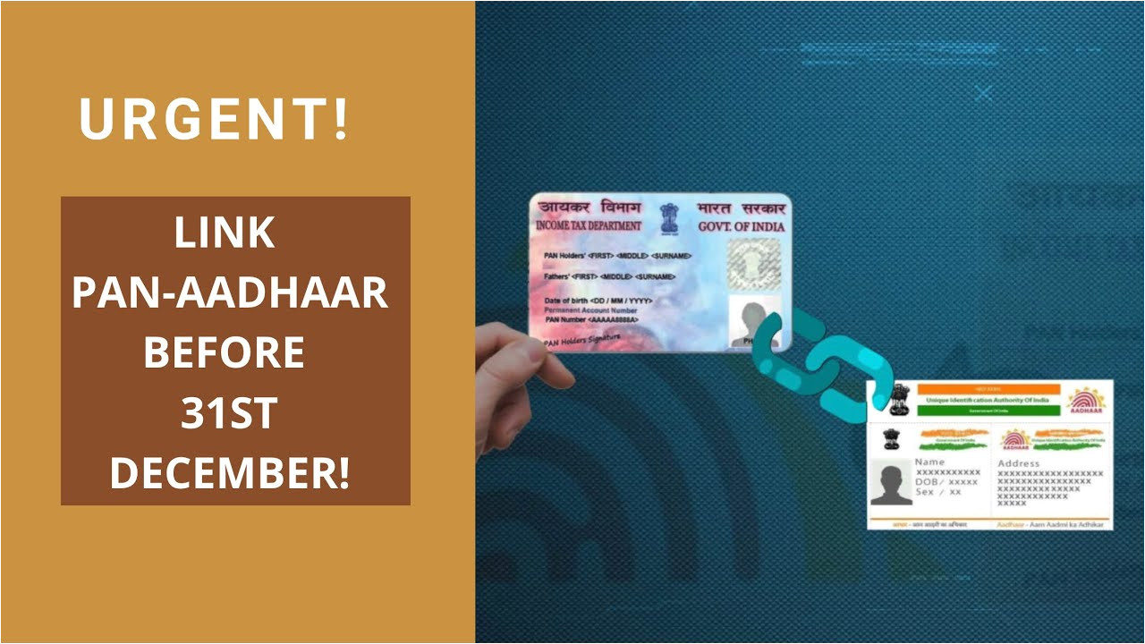 Aadhar Card Verification by Name Urgent How to Link Pan Aadhaar Online In 5 Minutes before 31st December