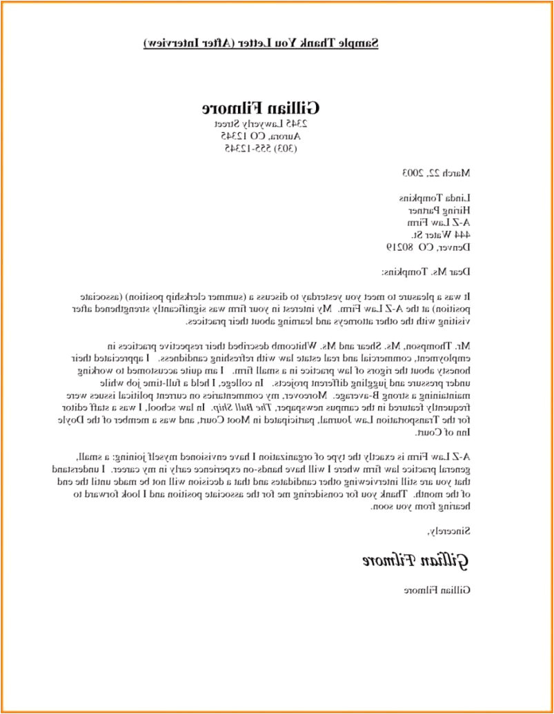 job interview thank you letter examples sample thank you letter after job interview resume cover letter of job interview thank you letter examples jpg
