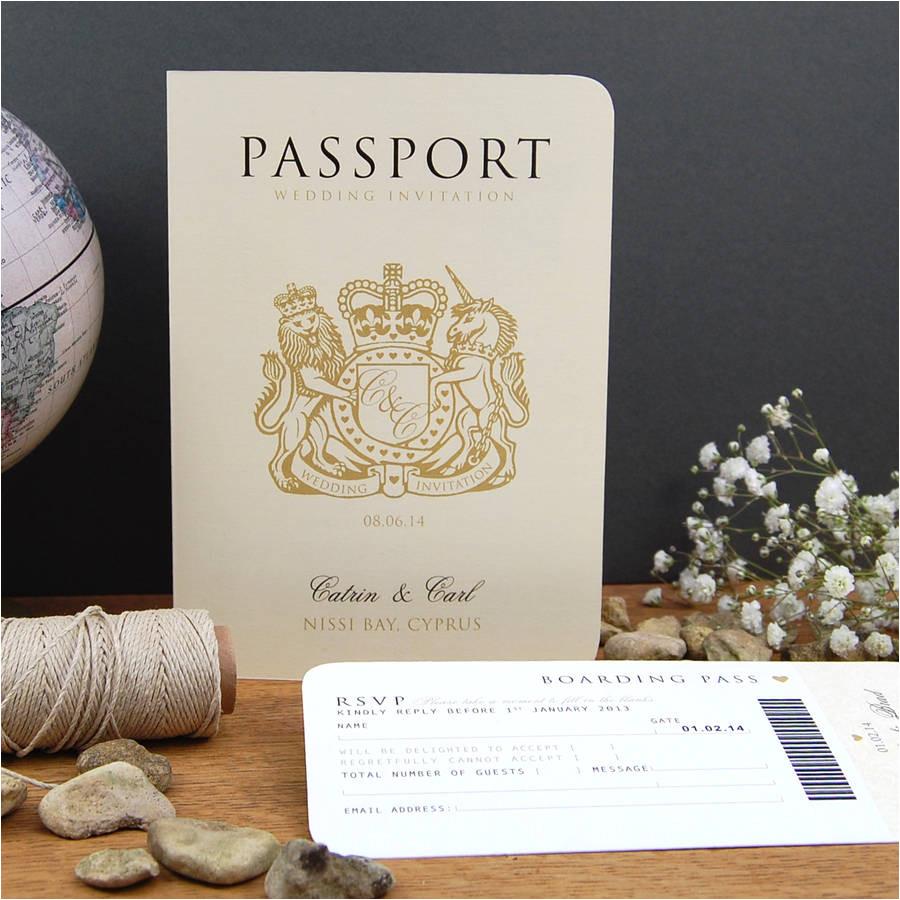 original passport to love invitation jpg