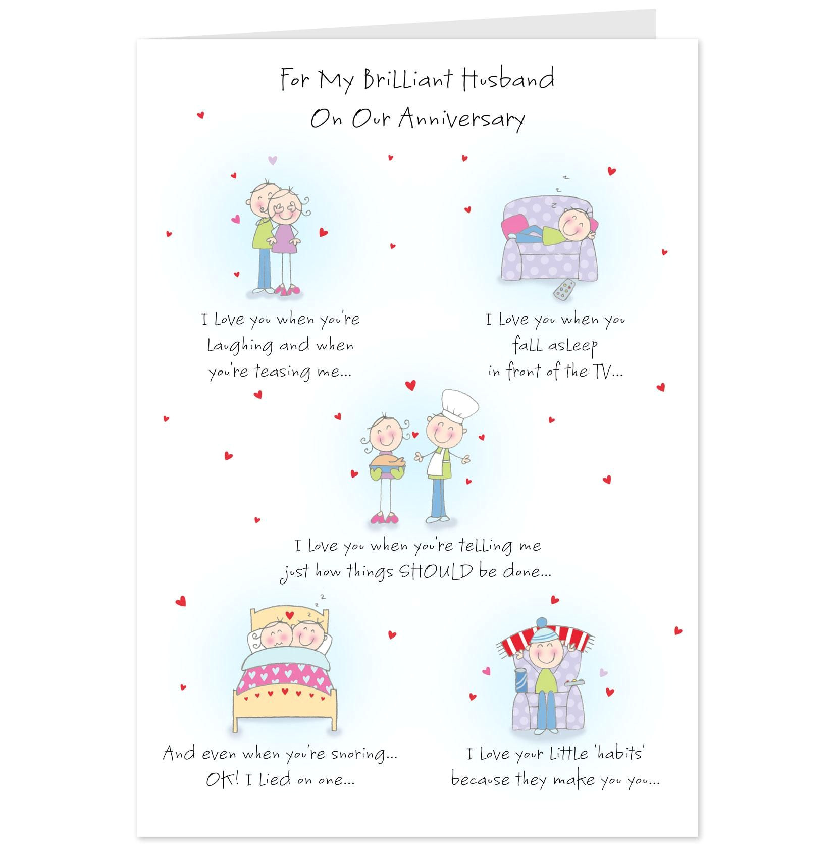 Anniversary Words for Husband Card Hallmark Anniversary Quotes with Images Anniversary