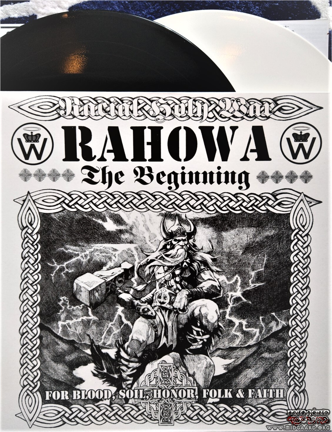Army Hail and Farewell Card Rahowa the Beginning Vinyl