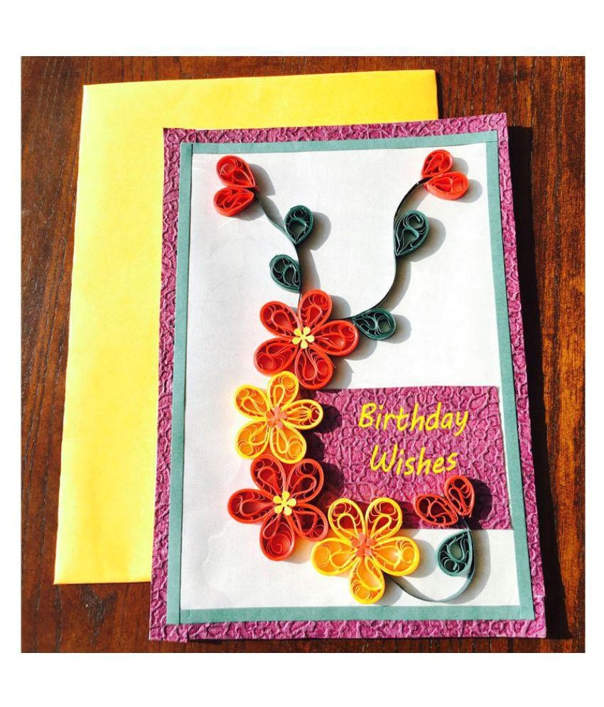 bonitahub handmade quilling birthday card sdl803810612 1 1791d jpg