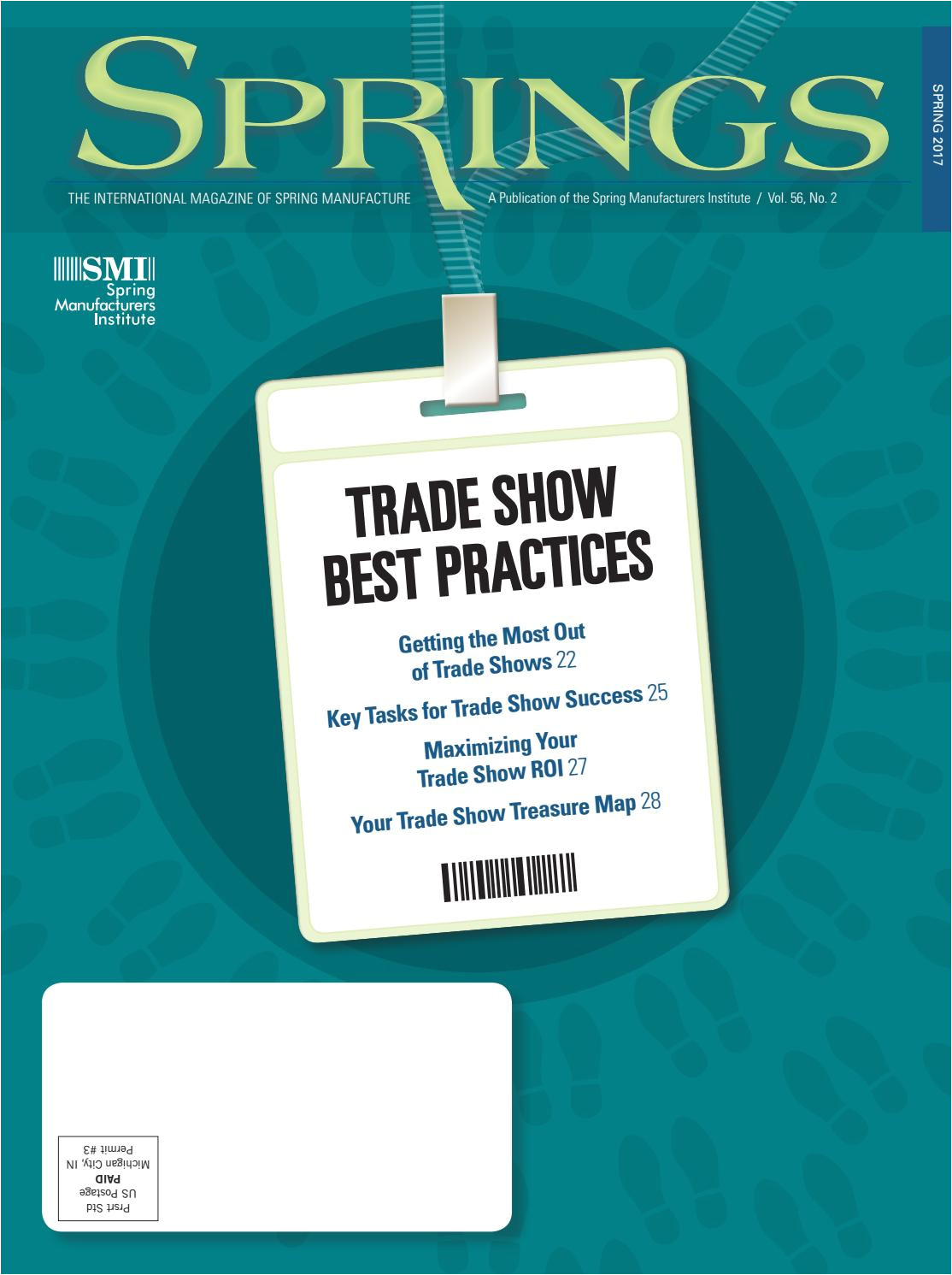 Beautiful Card Technology (suzhou) Co. Ltd Springs Spring 2017 Vol 56 No 2 by Spring Manufacturers