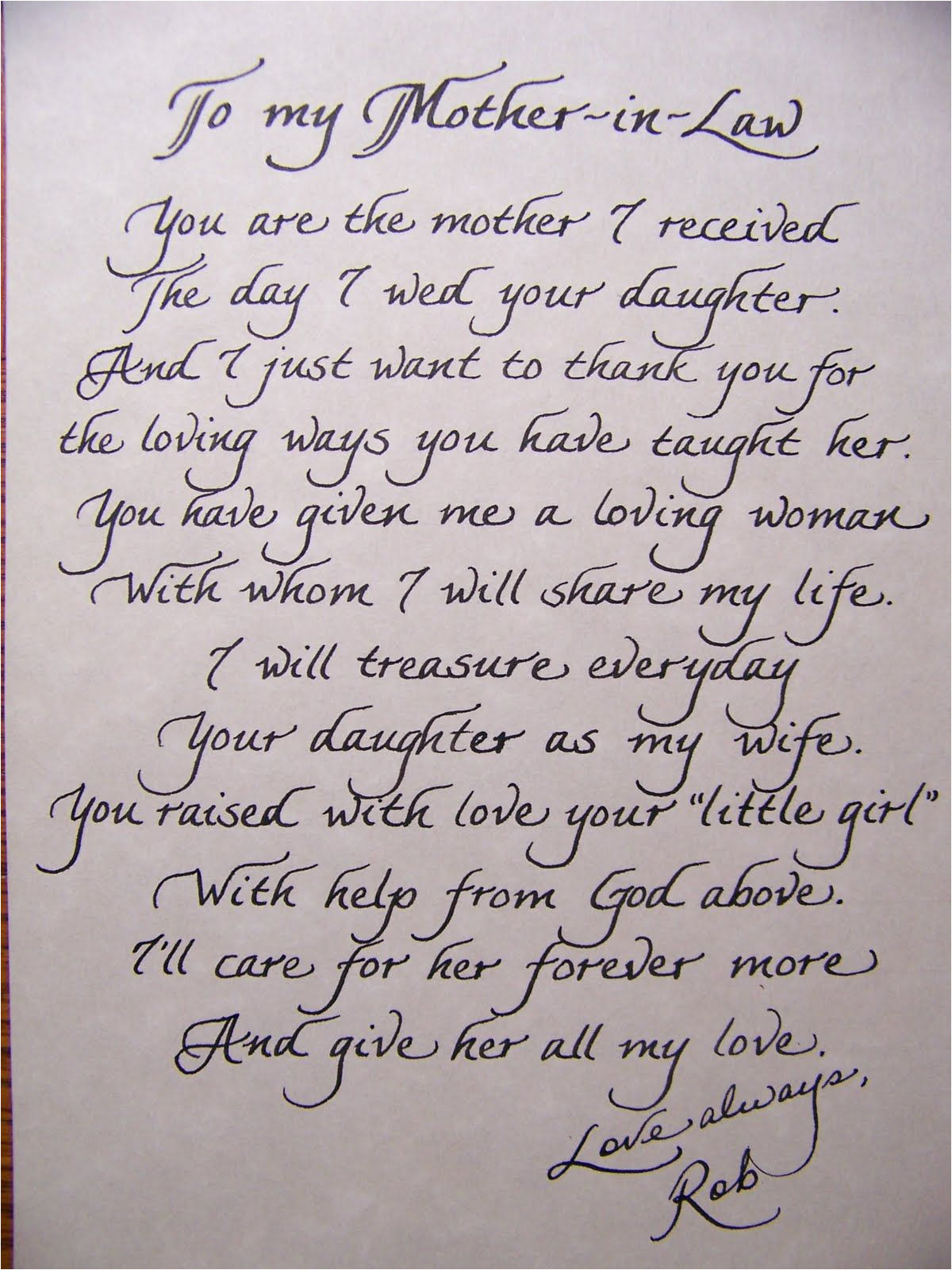 Beautiful Sayings to Write In A Wedding Card A Poem for the Mother Of the Bride Wedding Speech Wedding