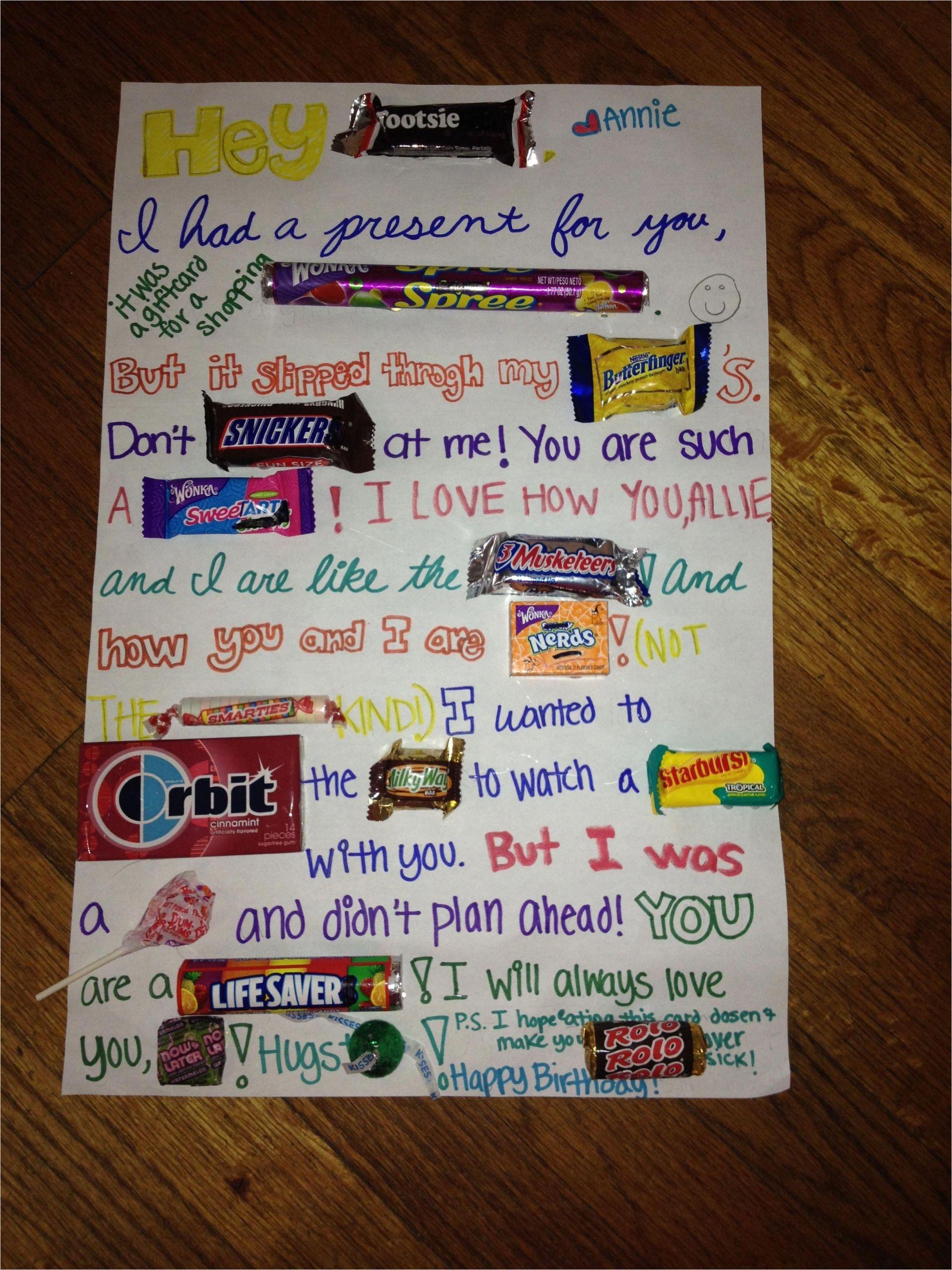 Birthday Card Ideas for Best Friend Diy Gift Ideas for Bestfriend Birthday Cards for Friends
