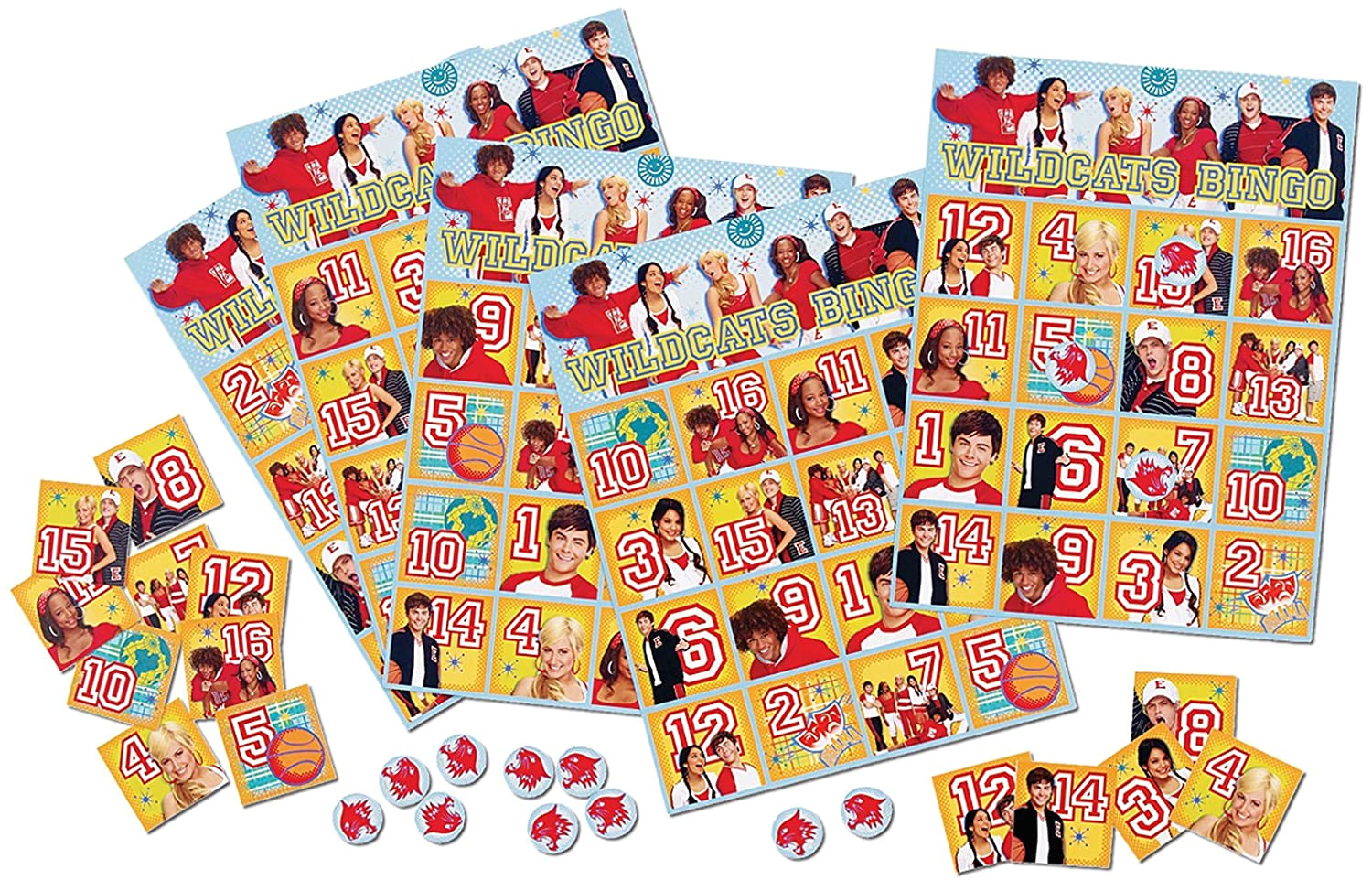 Birthday Wrapping Paper Card Factory Factory Card and Party Outlet High School Musical 3 Bingo Game