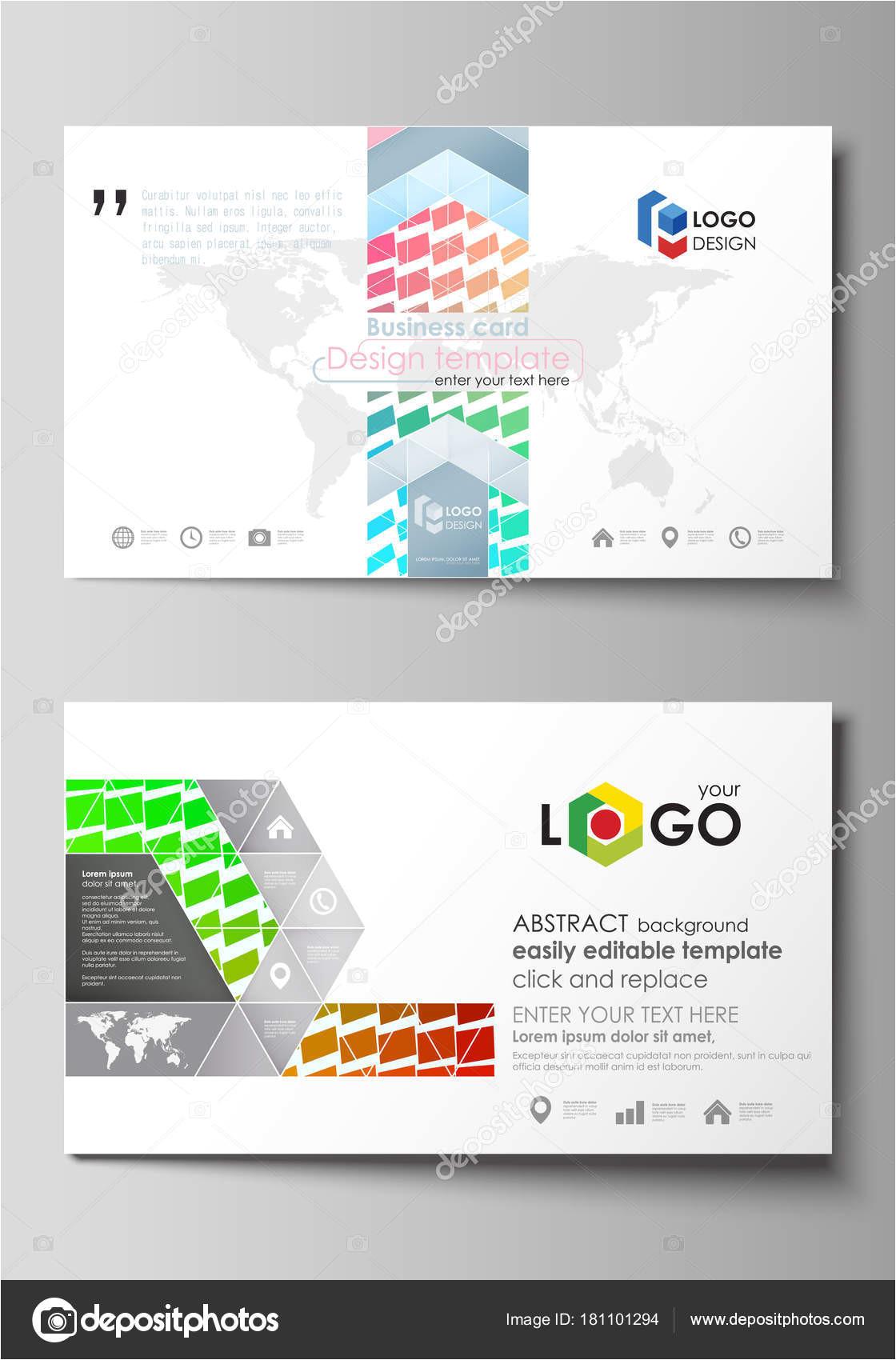 depositphotos 181101294 stock illustration business card templates easy editable jpg