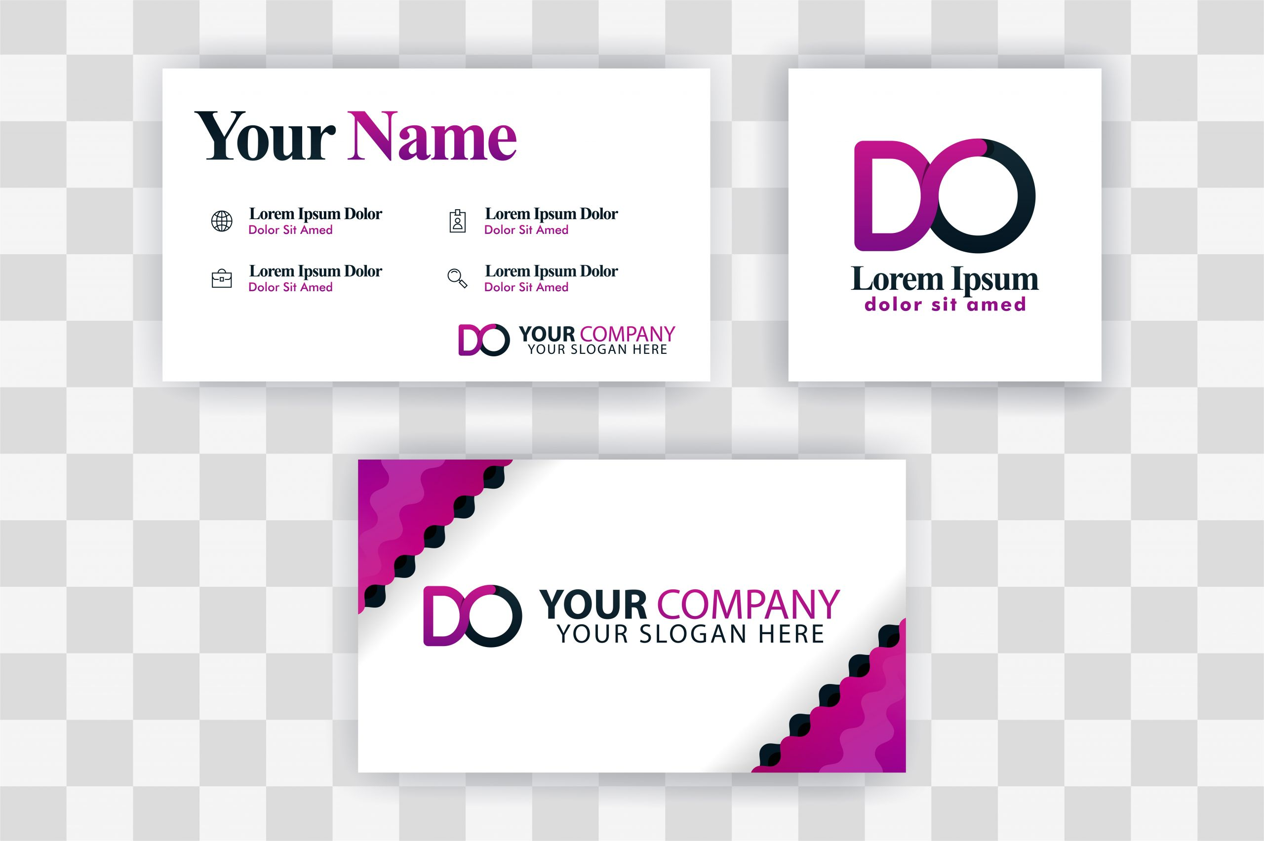 od letter logo business card template graphics 4098339 1 jpg