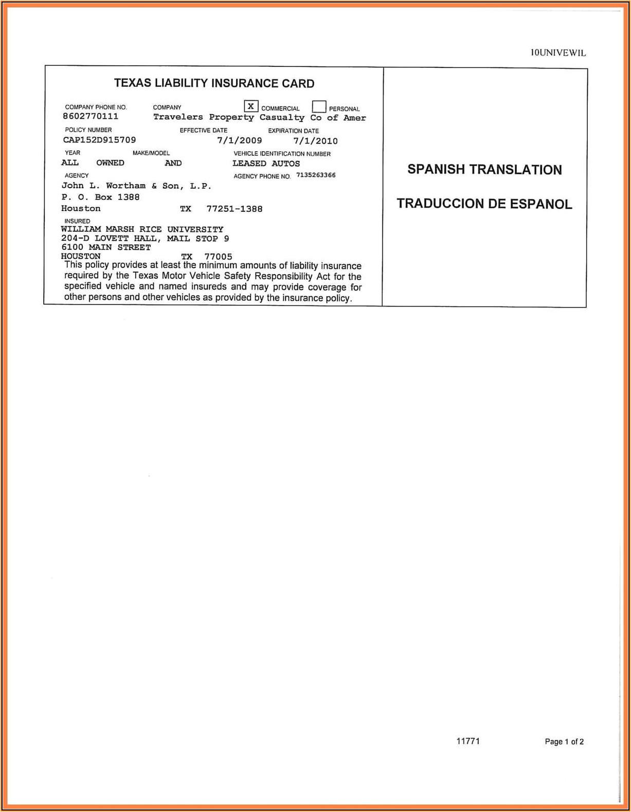 blank auto insurance card template jpg