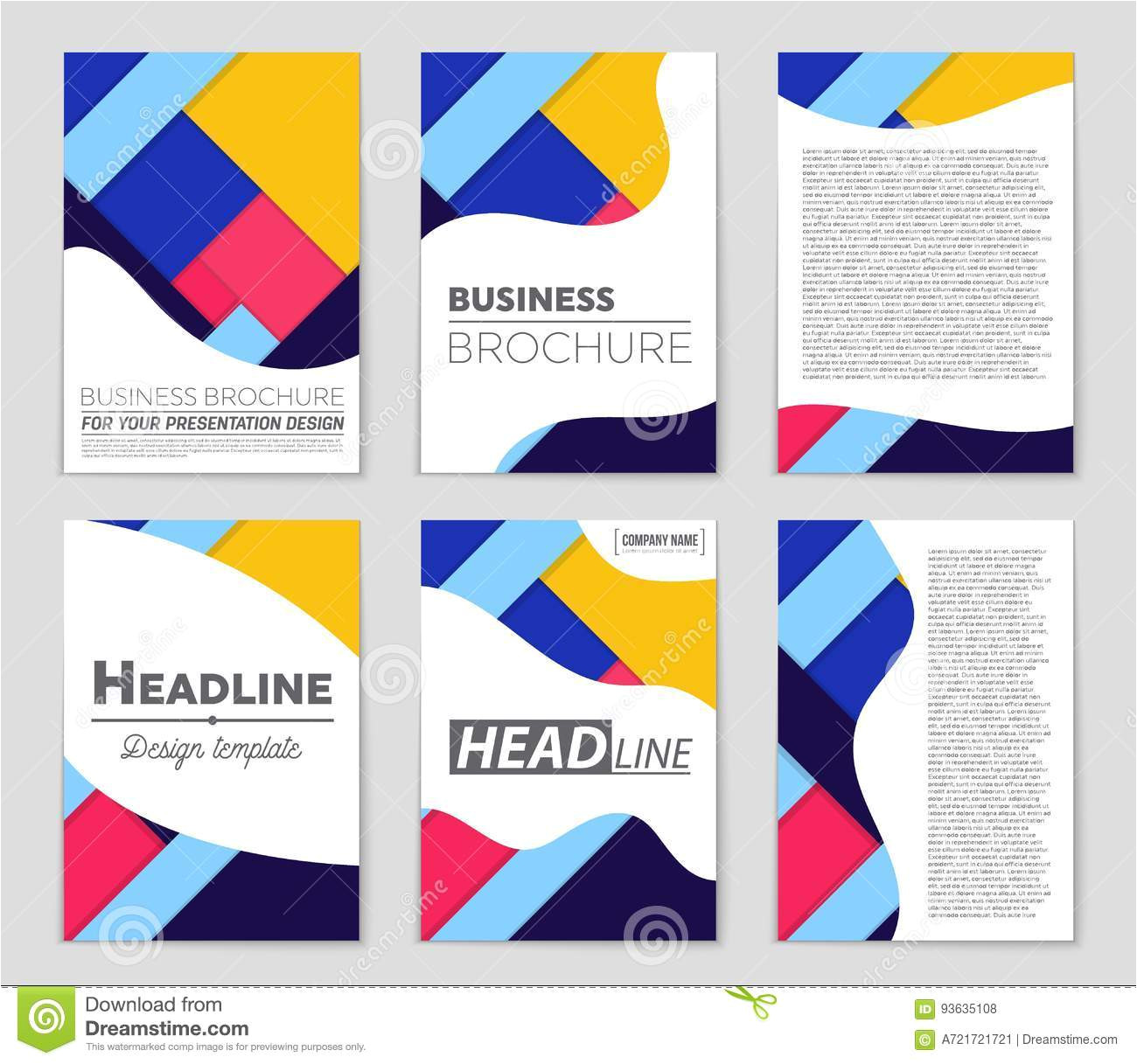 abstract layout background set art template design list front page mockup brochure theme style banner idea cover booklet print 93635108 jpg