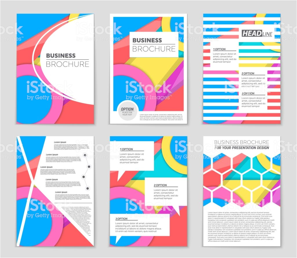 abstract vector layout background set for art template design list vector id1065823222