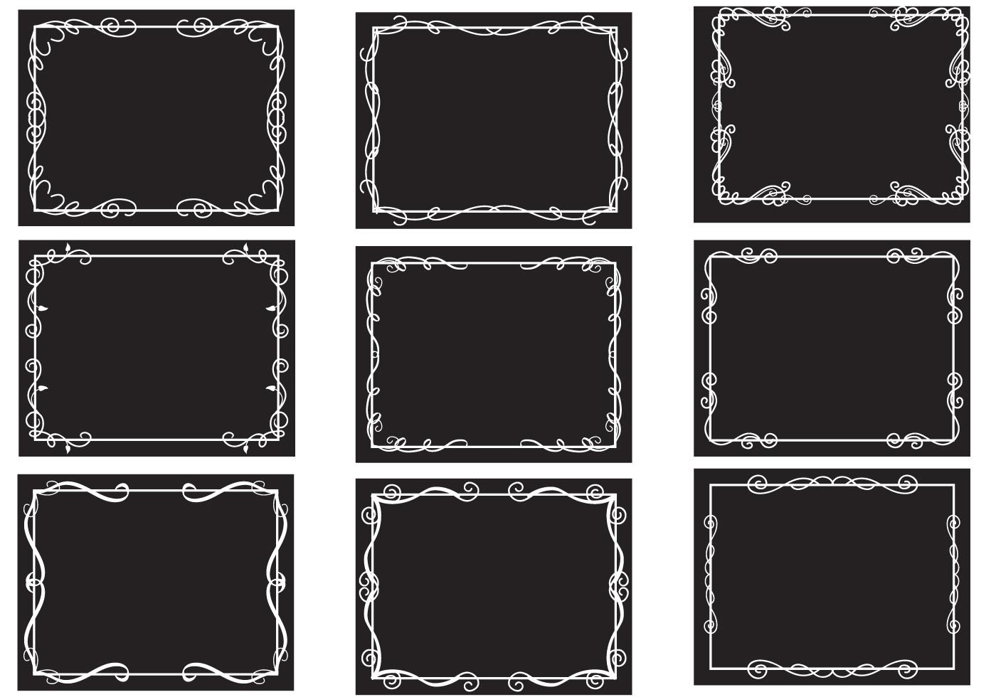free silent film border vectors jpg