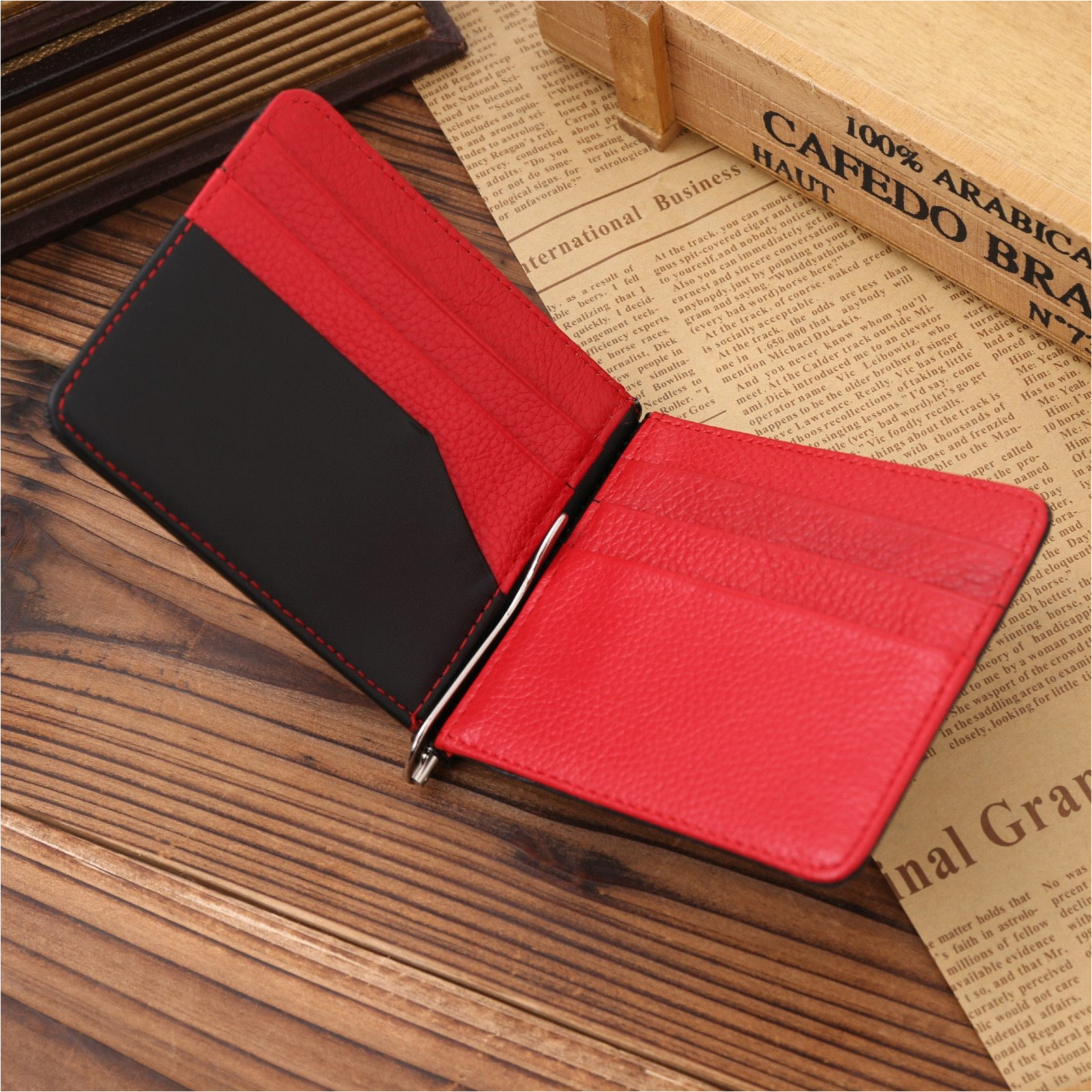 jinbaolai genuine leather simple male black money clip with credit card slots bits fashion famous brand 463b73a7 5279 46d3 a87f 1bcfb904f8cd jpg