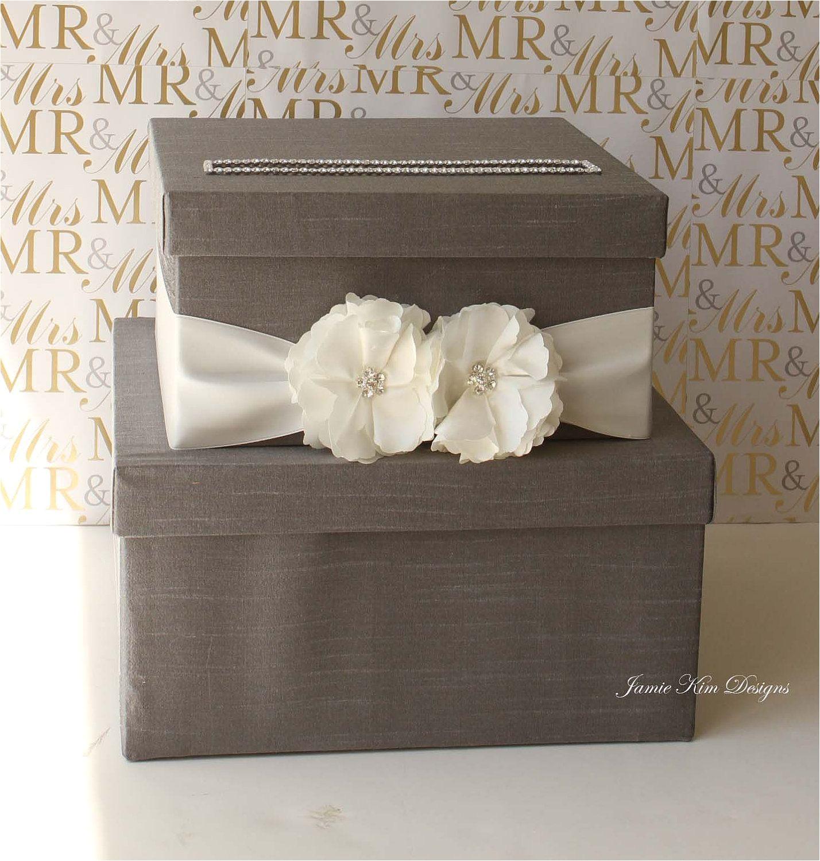 Card Box Ideas for Wedding Wedding Card Box Money Box Wishing Well Custom Card Box