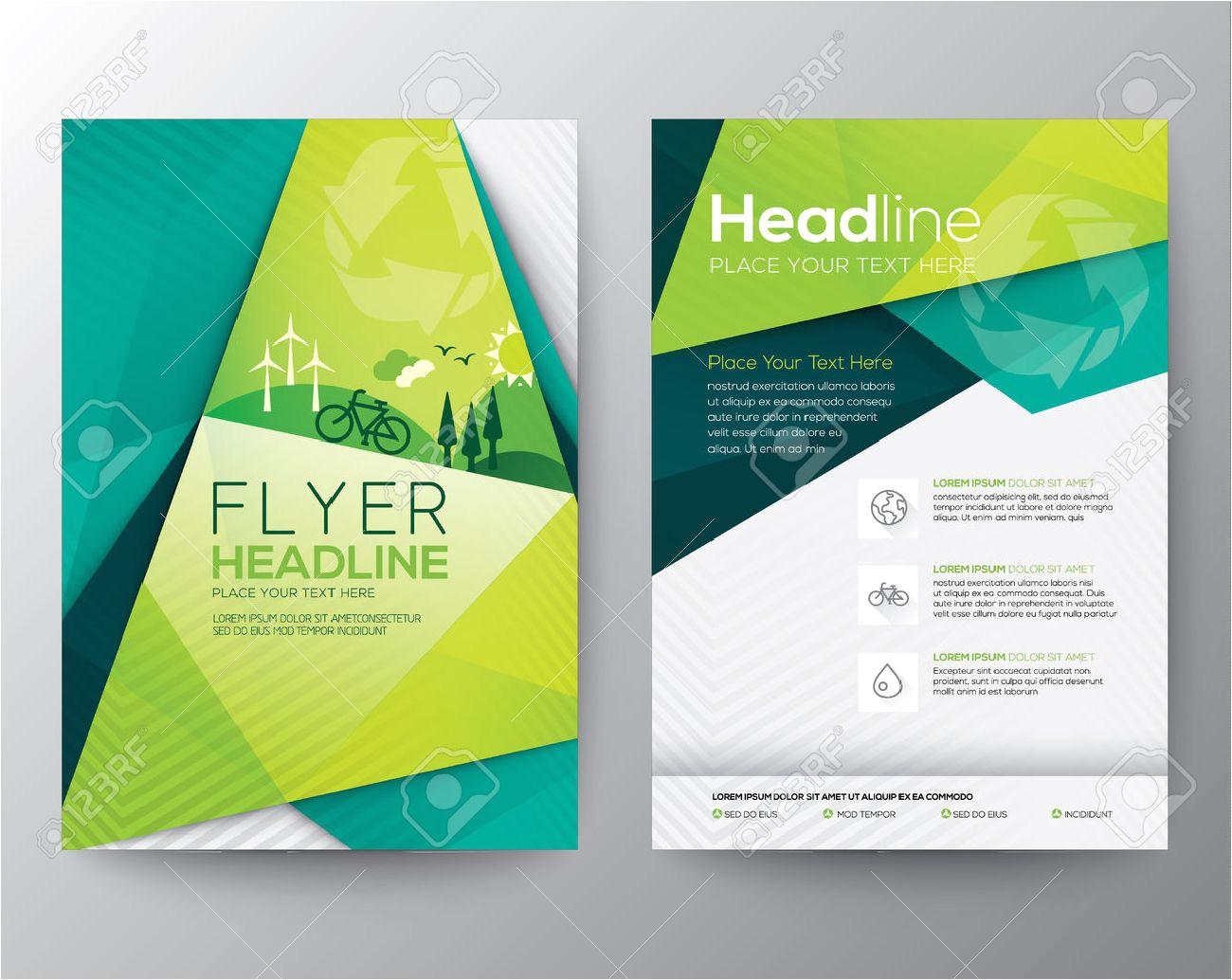 30443012 abstrakt dreieck brosch c3 bcre flyer design vorlage im a4 format jpg