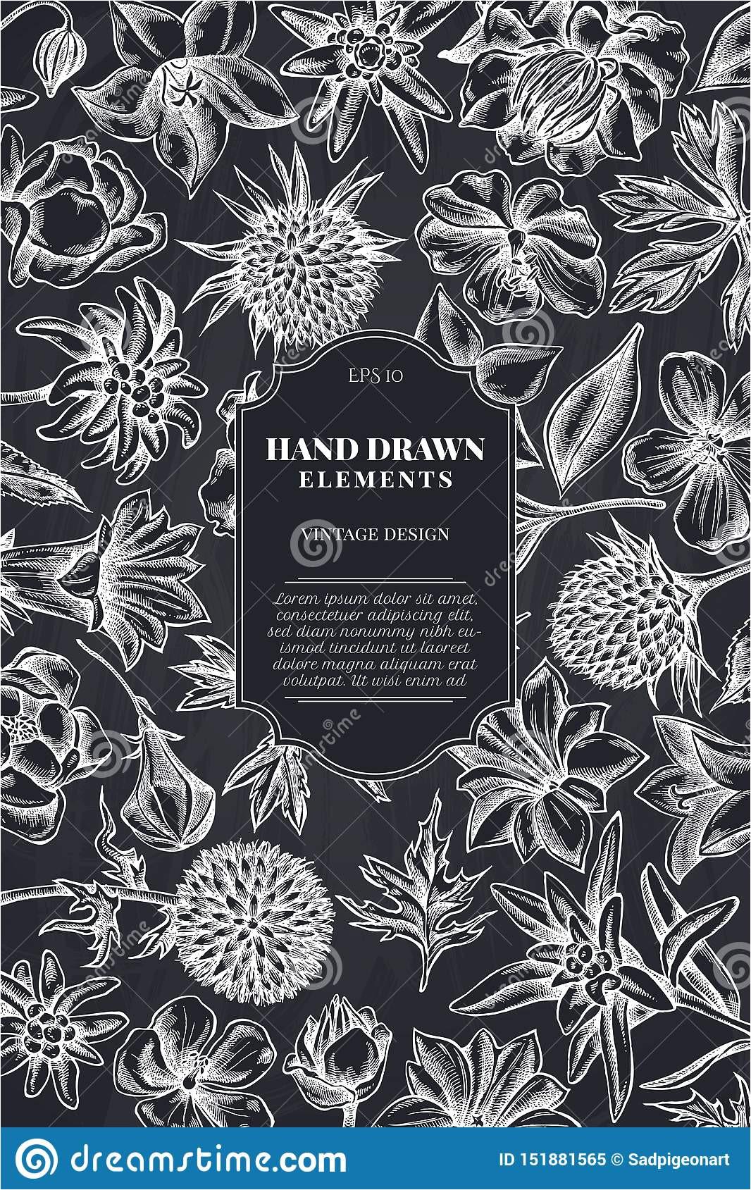 kartenentwurf mit kreideglockenblume edelwei c3 9f globethistle globeflower wiesenpelargonie enzian enzianillustration auf lager 151881565 jpg