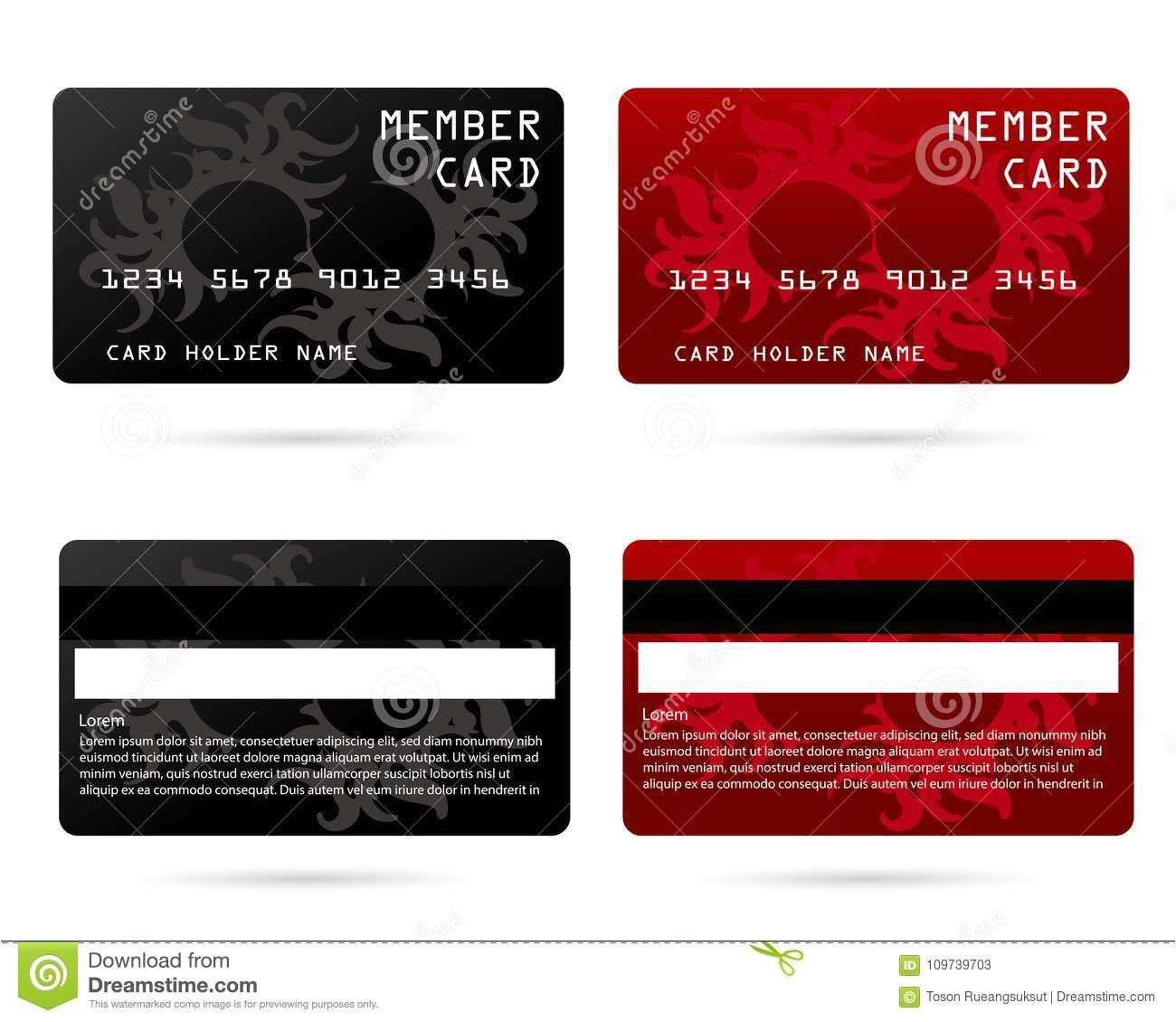 modern credit card business vip card design privilege member member card modern credit card business vip card member card 109739703 jpg