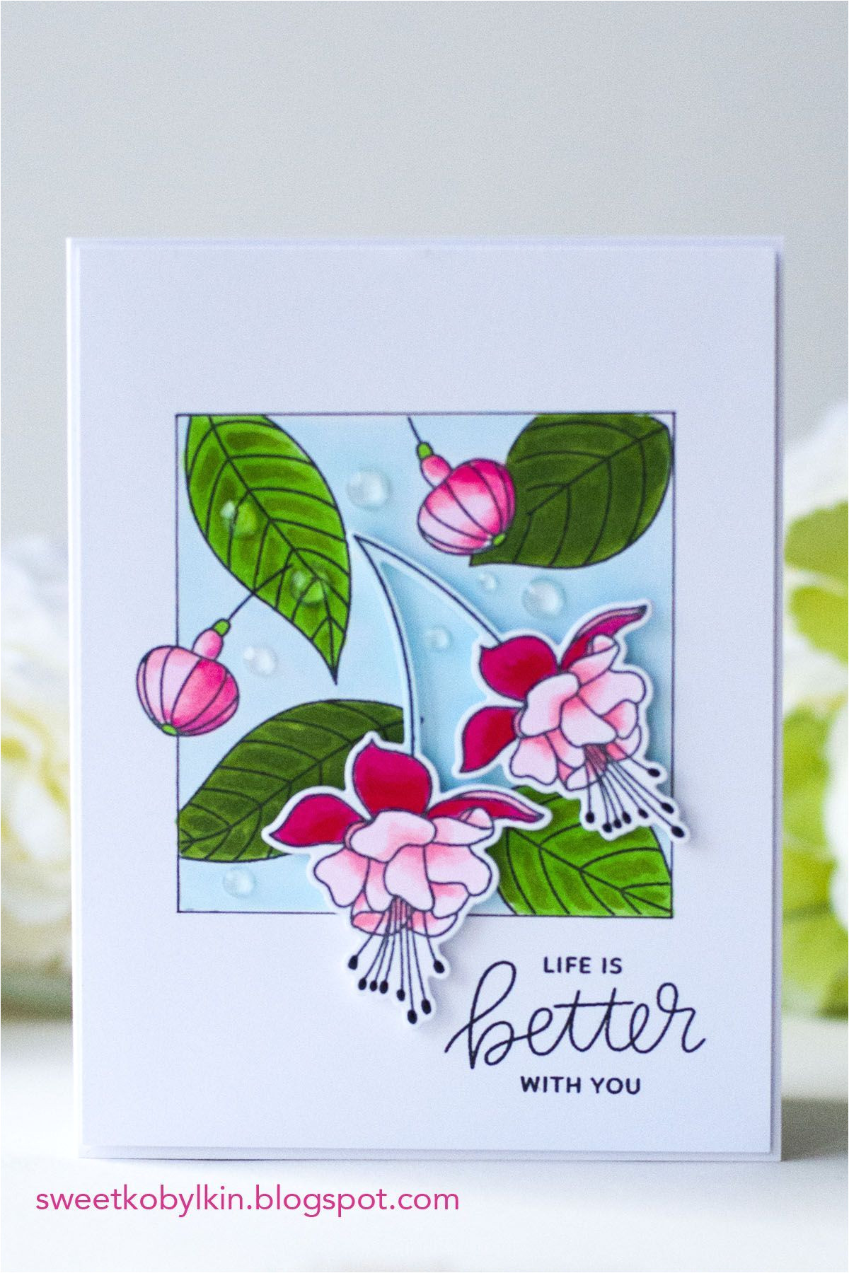 Card Ideas Using Flower Dies Pin by Sunny S Craft On Flowers Cards Handmade Floral