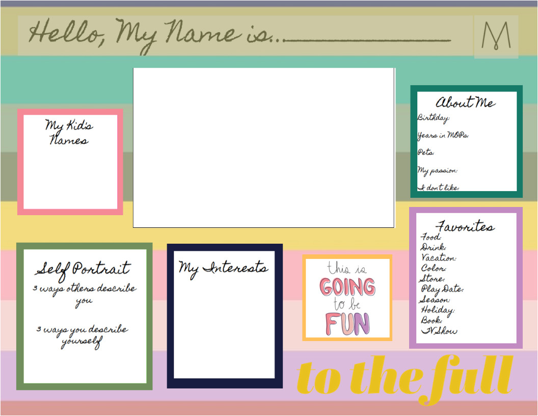 Card is In My Name Friday Introductions Mops International Mops Crafts Mops