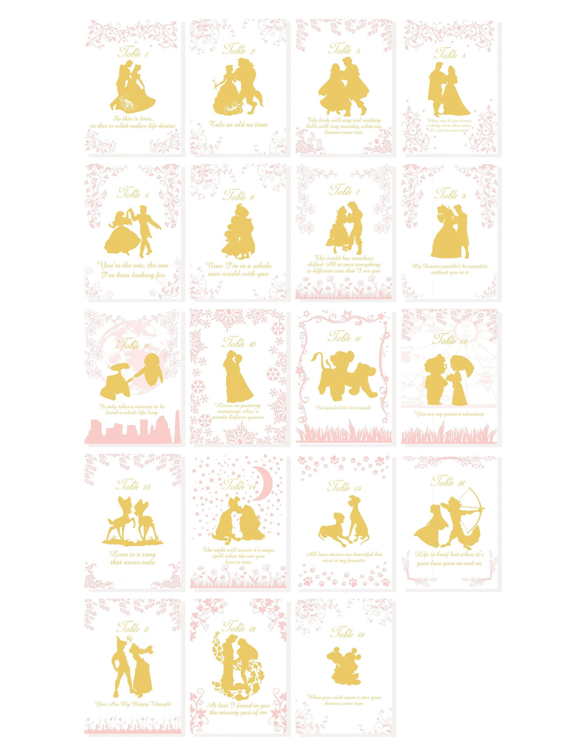 Card Of Life Birthday Chart Pink Gold Story Book Quotable Table Numbers Quotable