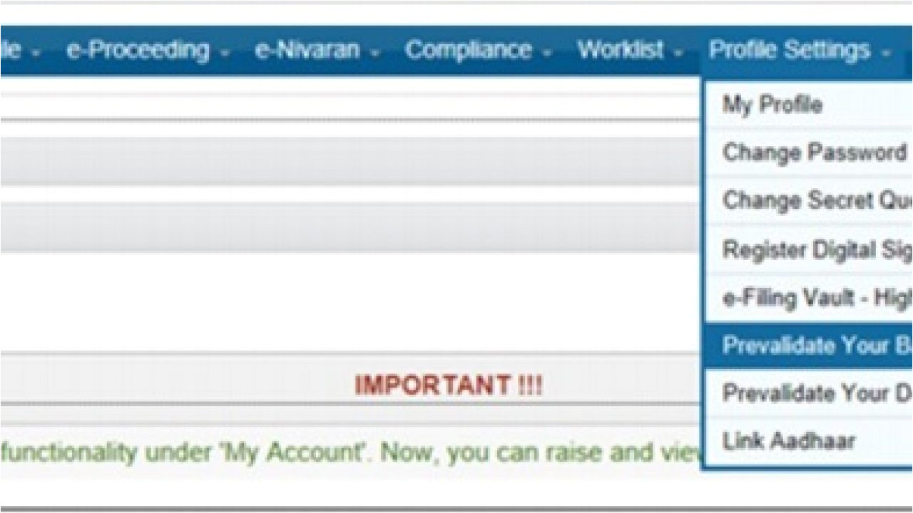 Card Validator with Bank Name How to Pre Validate Bank Account to Receive Income Tax