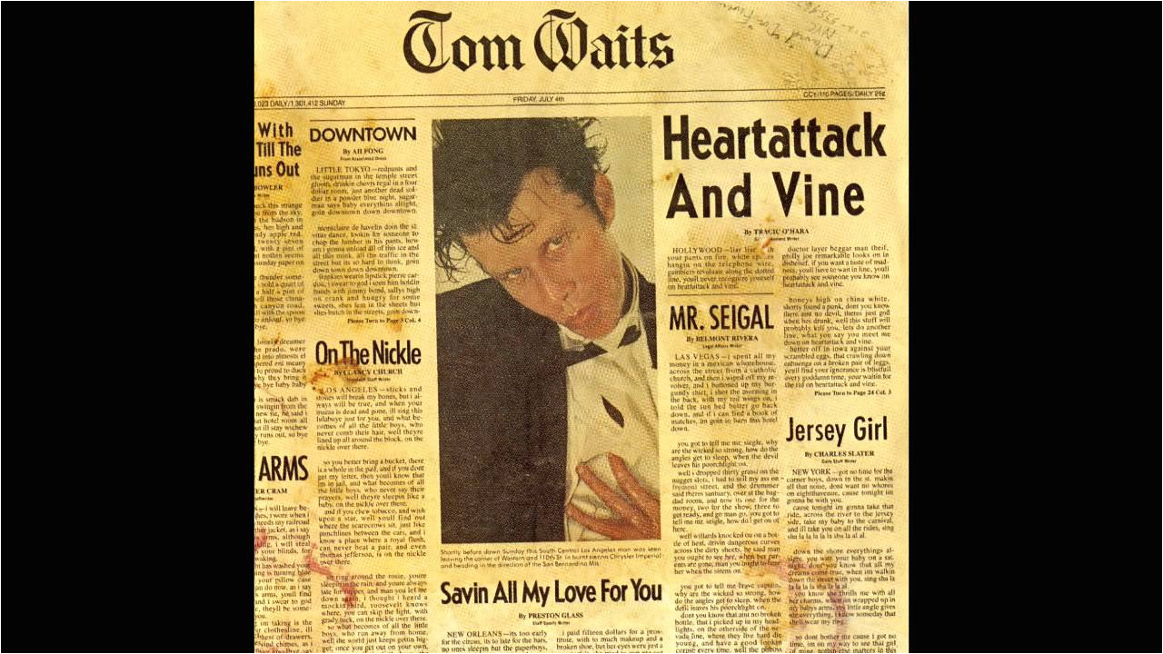 Christmas Card From A Hooker In Minneapolis Lyrics tom Waits Mr Siegal