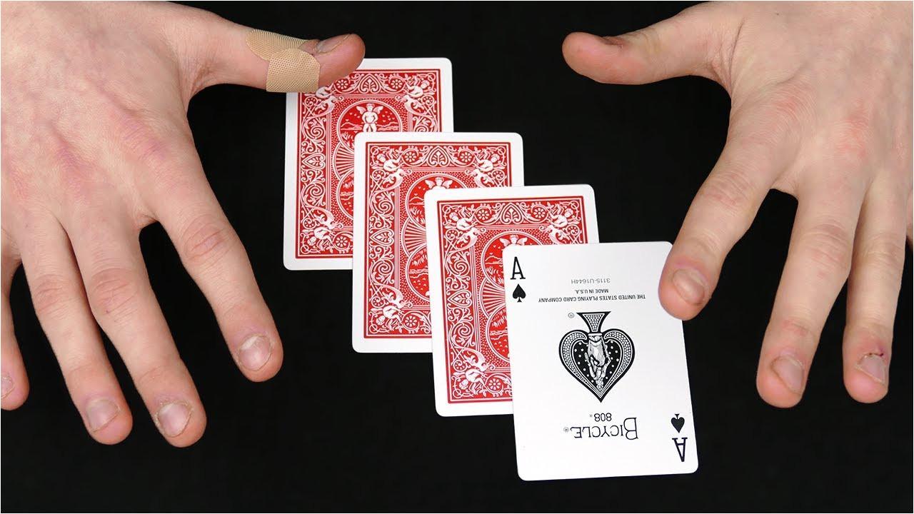 cool simple card magic tricks  williamsonga
