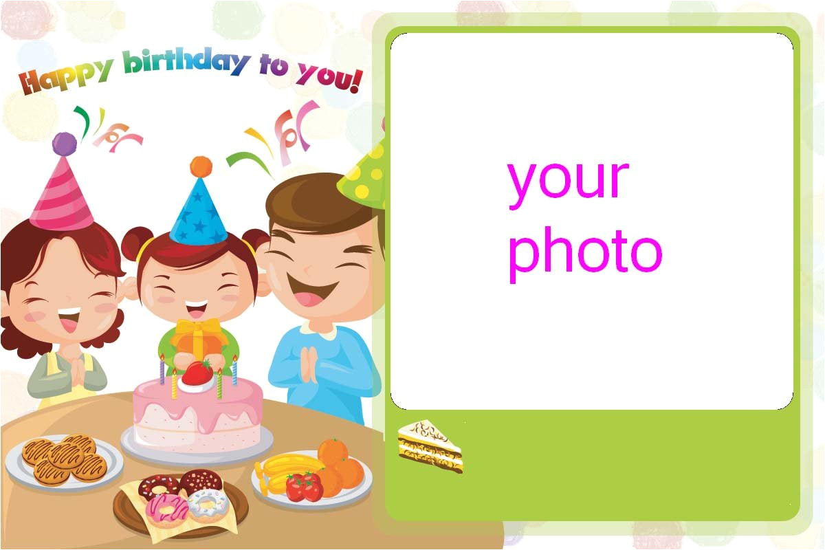 diy photo birthday cards sample 4 pictures customized jpg