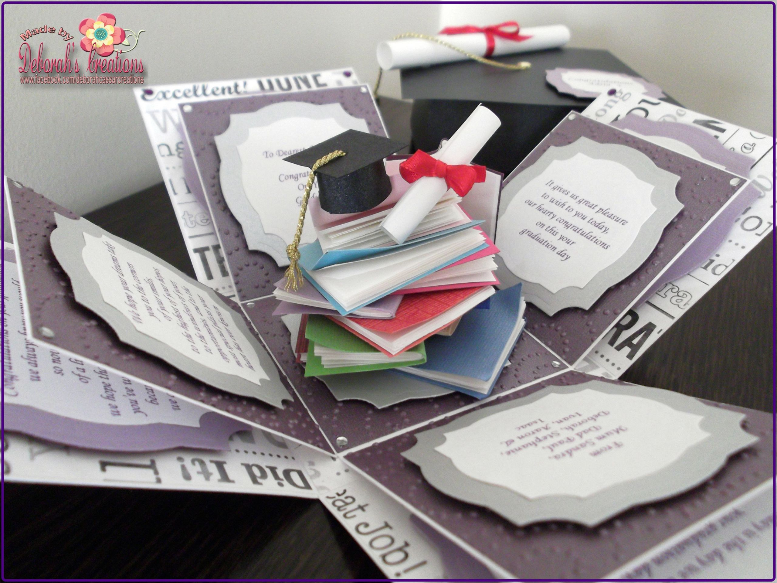 Creative Card Boxes for Graduation 292 Best Exploding Explosion Magic Boxes Images In 2020
