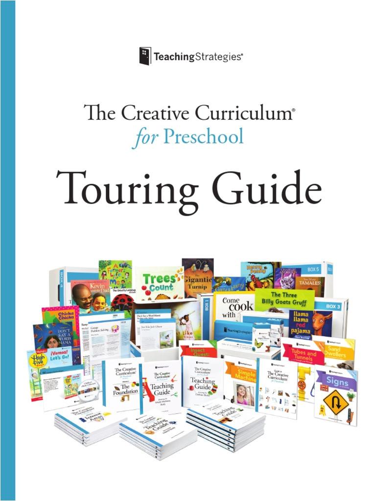 Creative Curriculum Intentional Teaching Card List the Creative Curriculum for Preschool touring Guide