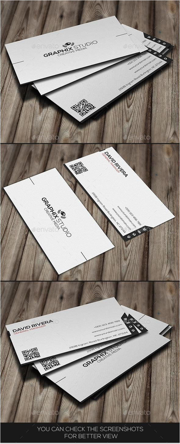 Creative Name Card Design Ideas White Creative Business Card Business Card Design