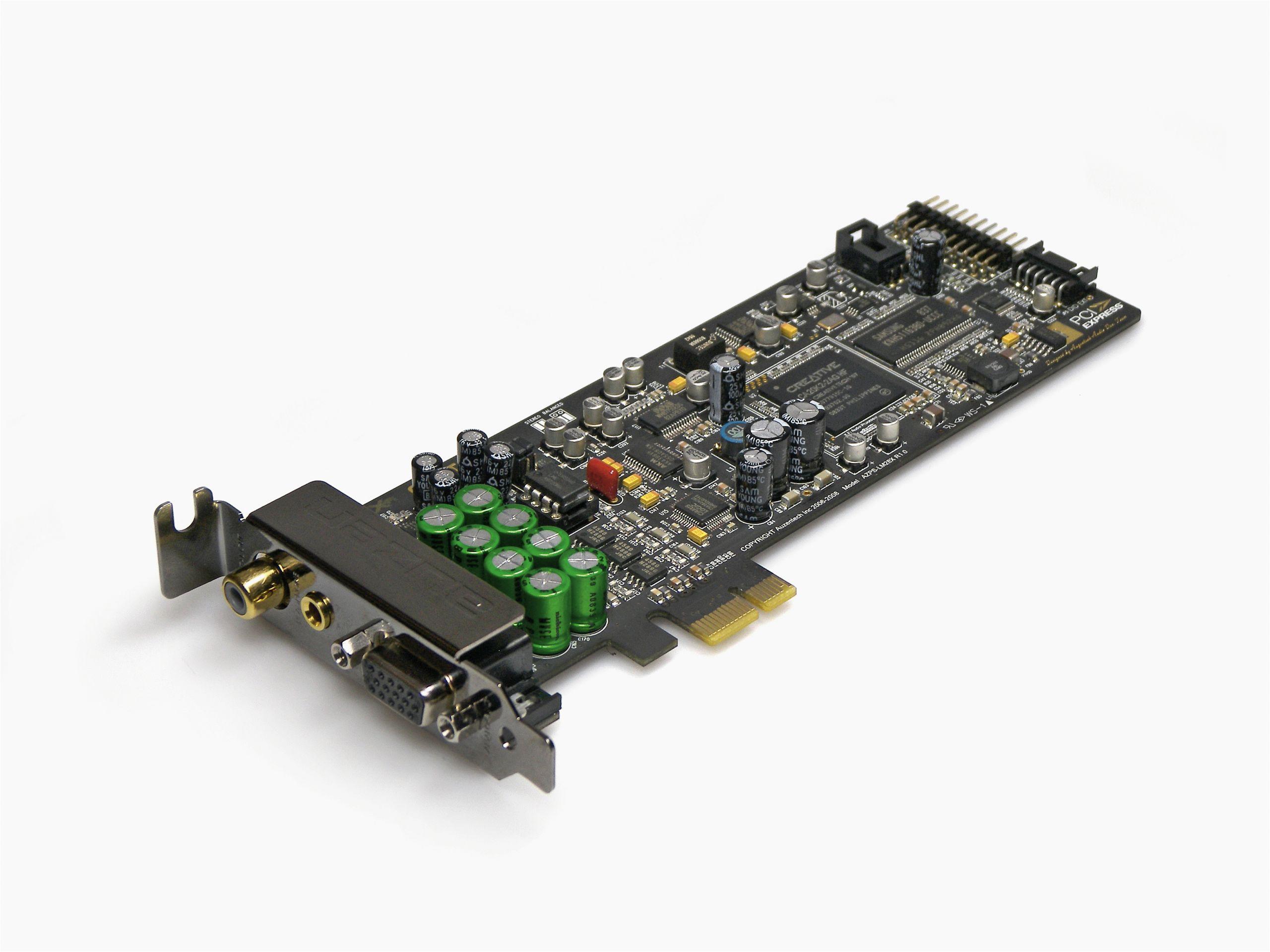 Creative X-fi Titanium Pcie Audio Card 5 soundkarten Von asus Auzentech Und Creative Im Test