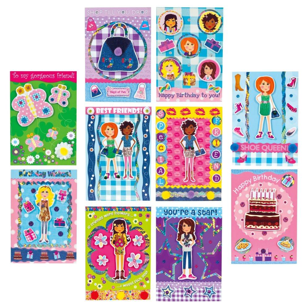 galt toys girl club 3d sparkle card factory gift 2515825 jpg