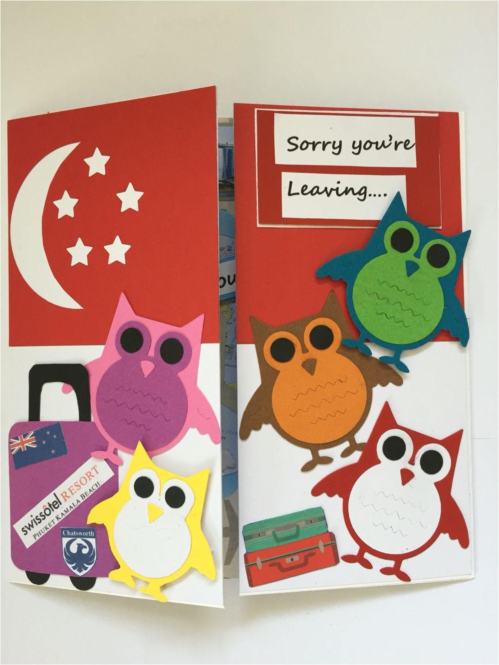 Diy Farewell Card for Colleague Farewell Card with Images Goodbye Cards Farewell Cards