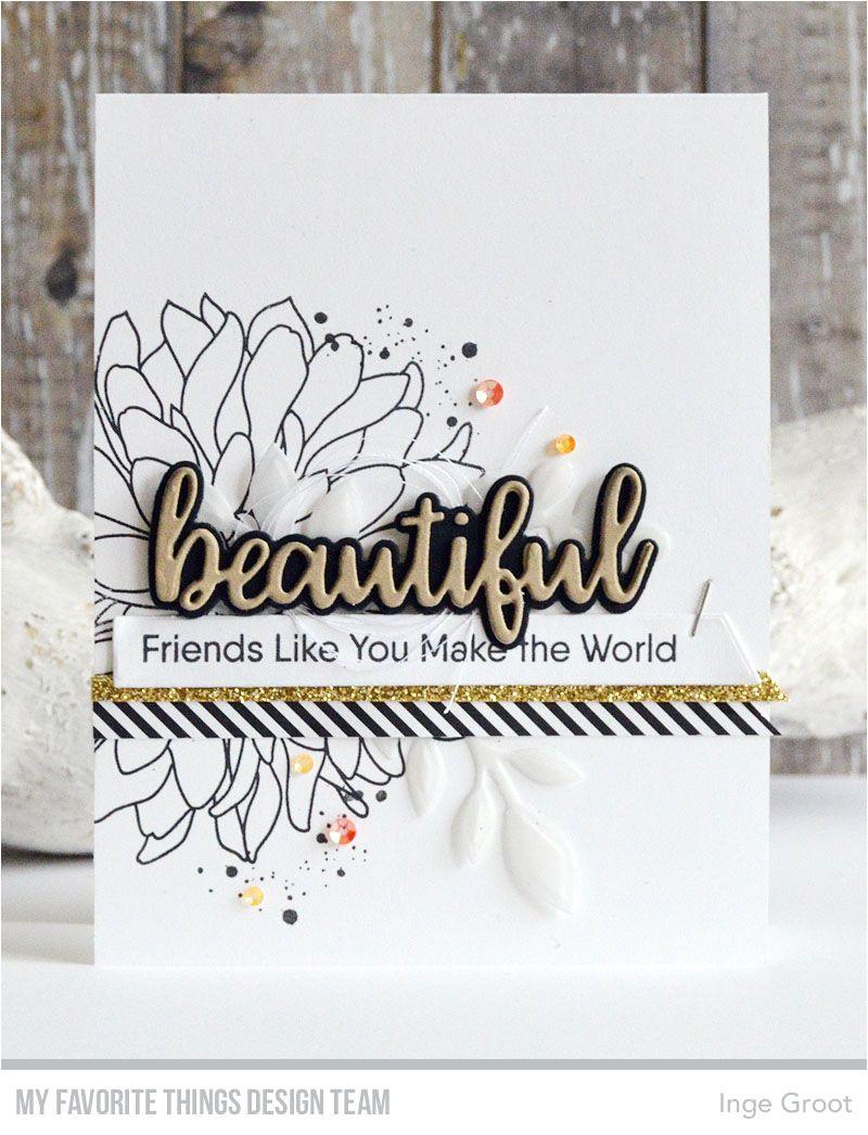 Diy Handmade Greeting Card Kits Handmade Card From Inge Groot Featuring Beautiful Bloom Card