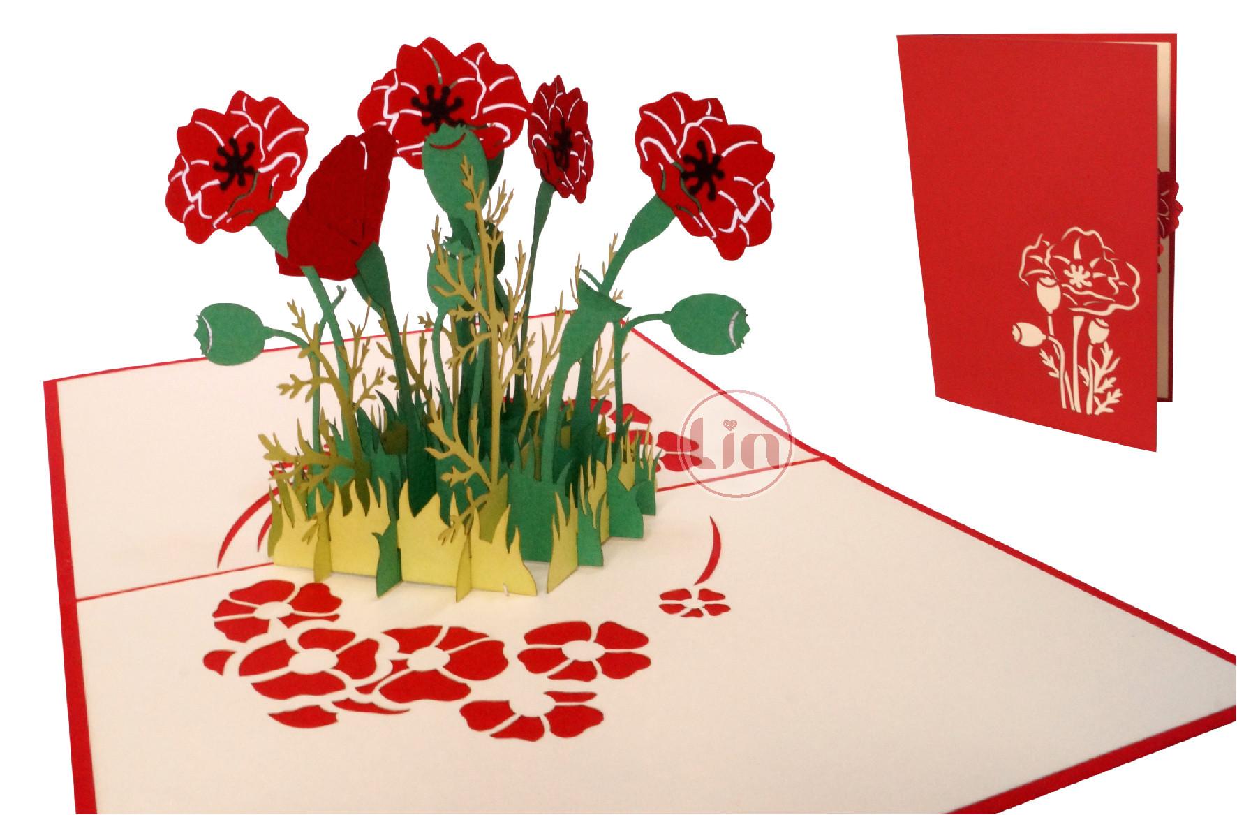 pop up card flower pop up card birthday 3d greetin jpg