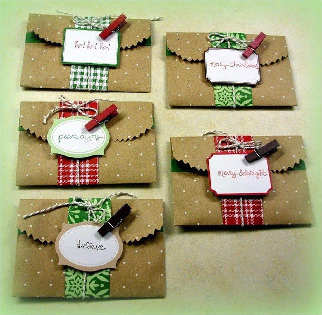 Diy Xmas Gift Card Holders 37 Easy Diy Christmas Card Craft Christmas Gift Card