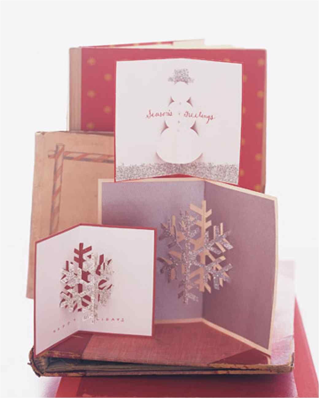Diy Xmas Pop Up Card Glittered Pop Up Christmas Cards Pop Up Christmas Cards