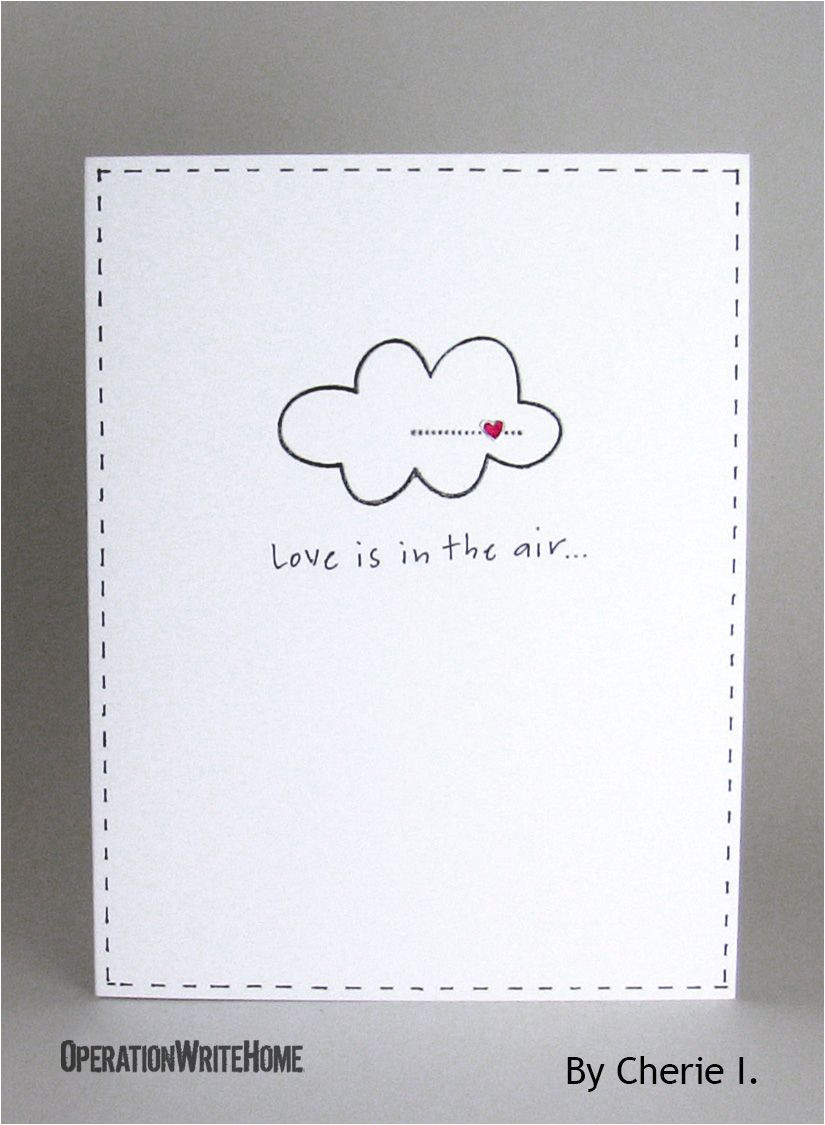 Easy and Simple Card Designs Clean and Simple Love Card Love Cards Love Cards for Him