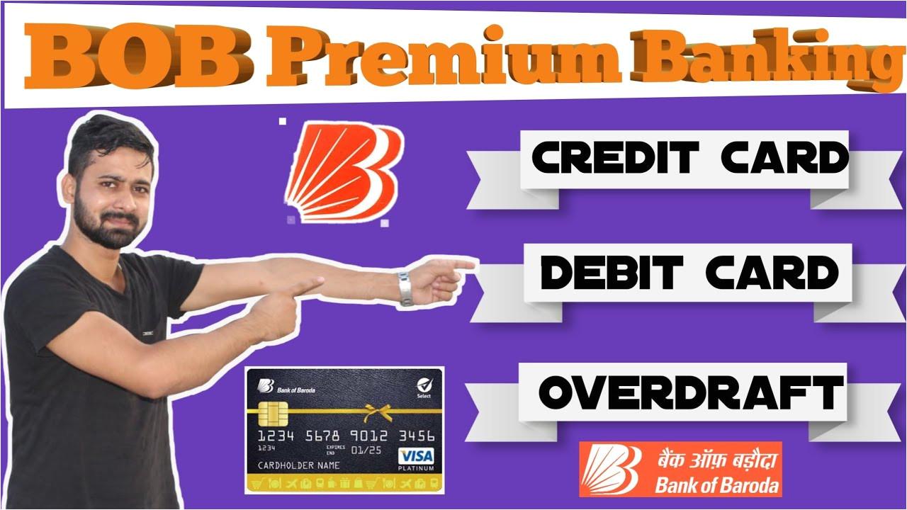 Easy Card Bank Of Baroda Bank Of Baroda Salary Super Account Bob Premium Banking Account Benefits