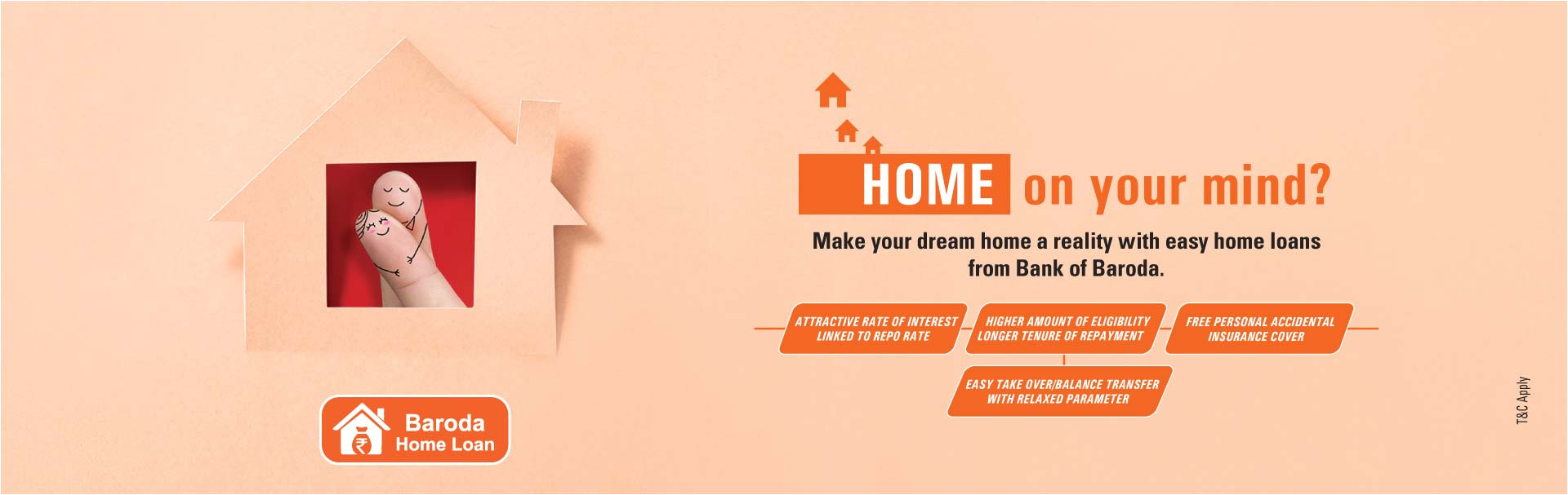 Easy Card Bank Of Baroda Home Loan Types Different Home Loan Options In India