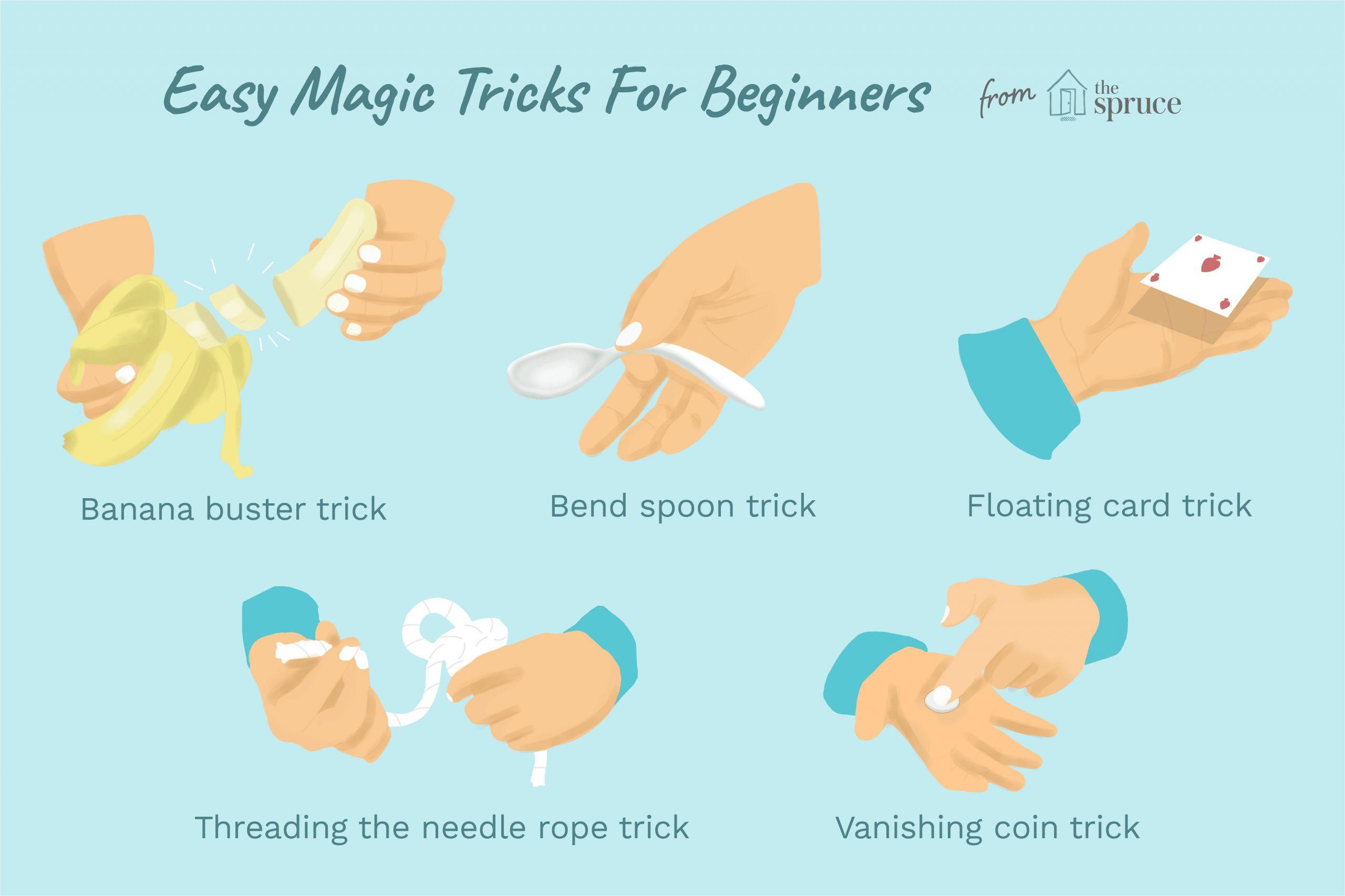 Easy Kid Card Magic Tricks Easy Magic Tricks for Kids and Beginners