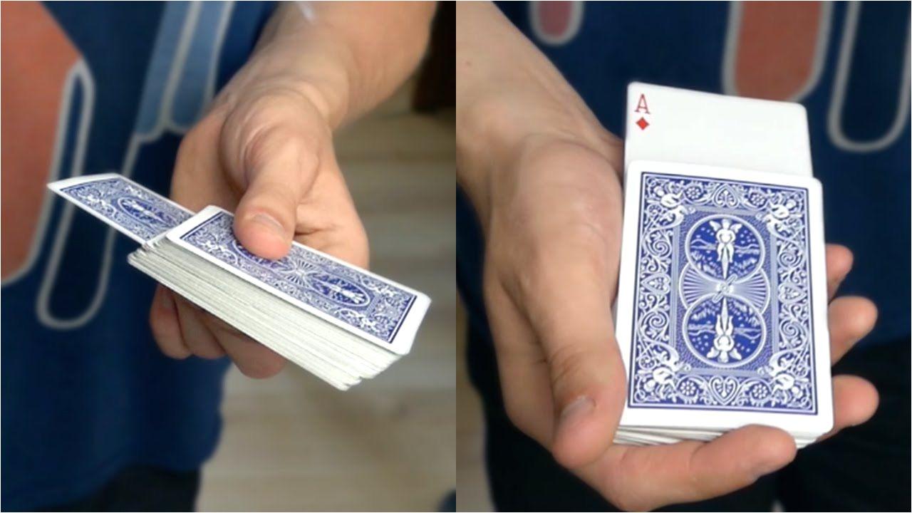 Easy yet Effective Card Tricks Rising Card Trick Tutorial Card Tricks Magic Tricks