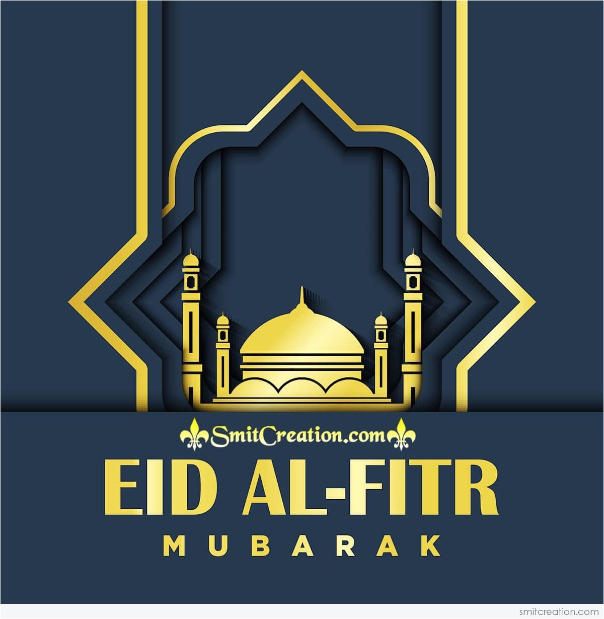 Eid Al Fitr Greeting Card Eid Al Fitr Pictures and Graphics Smitcreation Com