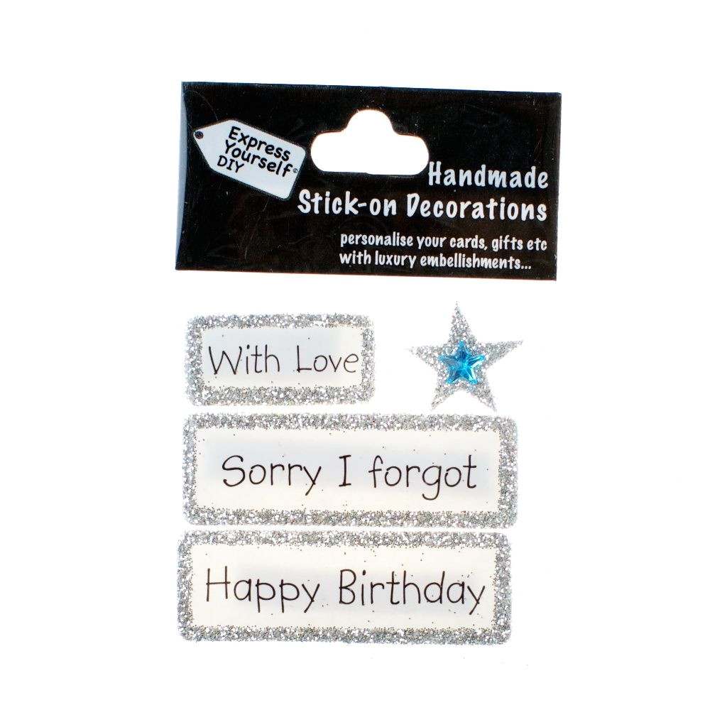 Express Yourself Diy Card toppers Diamond Anniversary Diy Greeting Card toppers Personalise