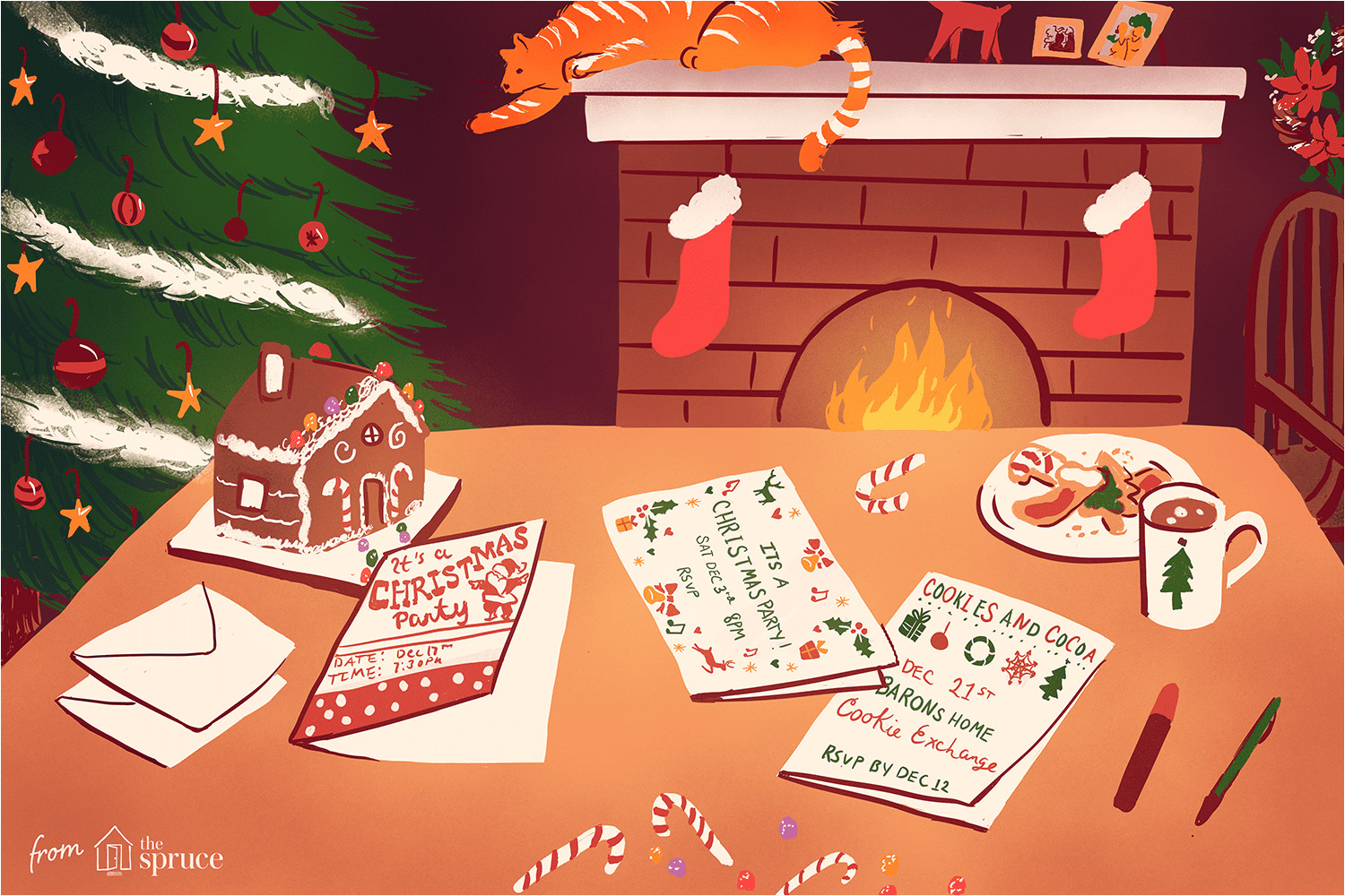 Free Xmas Invitation Card Templates 12 Free Christmas Party Invitations that You Can Print