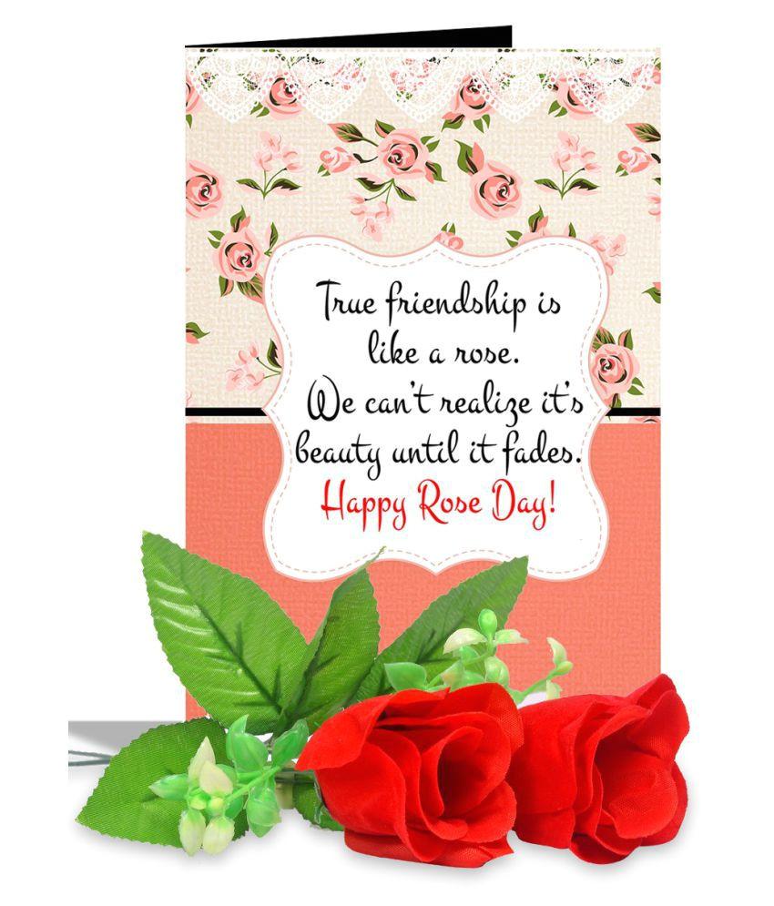 true friendship rose day greeting sdl329225895 1 32abf jpg