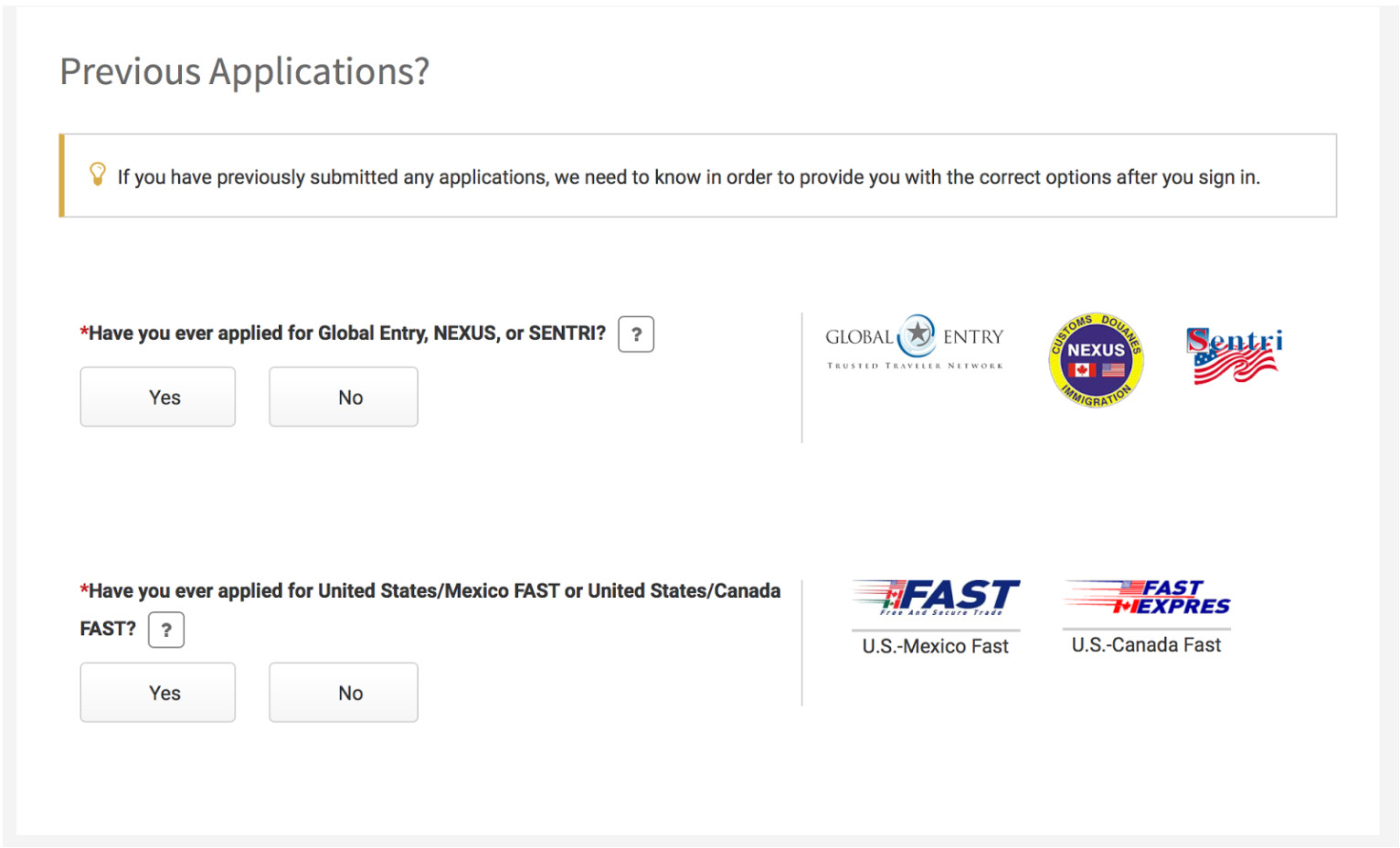 ttp previous applications png