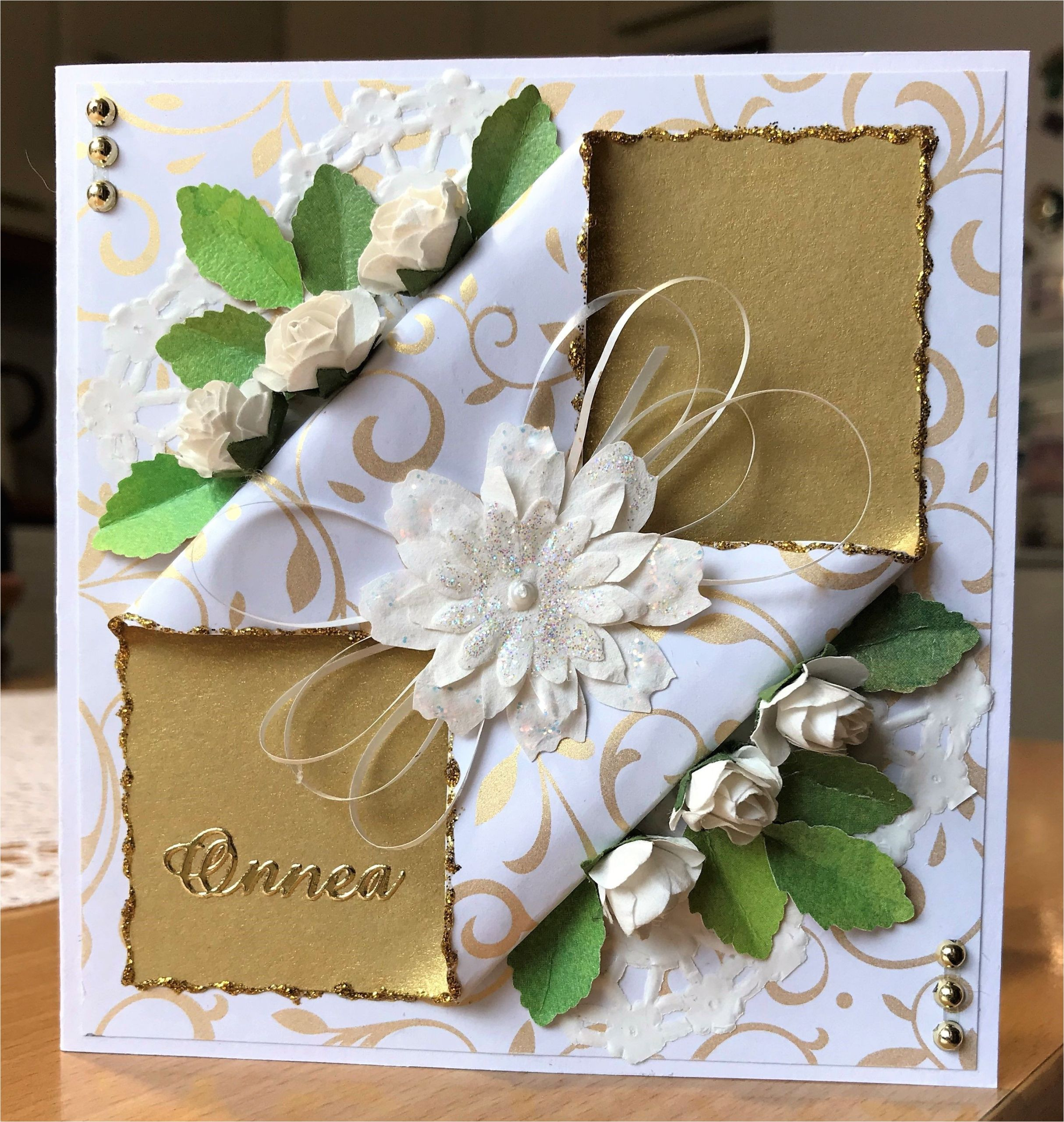 Greeting Card Handmade for Birthday Onnittelukortti Onnittelukortit with Images Cards