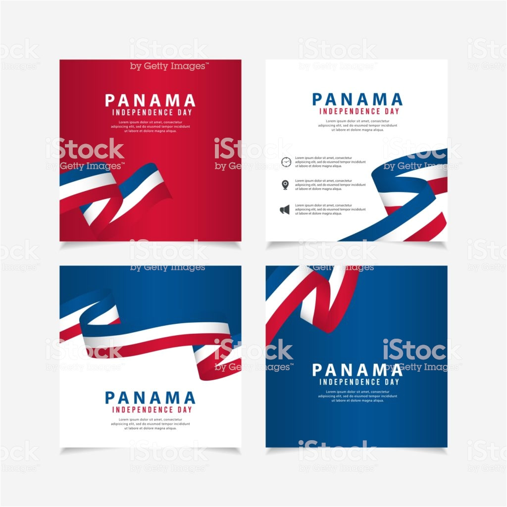 independence day of panama design illustration template design for vector id1179855319
